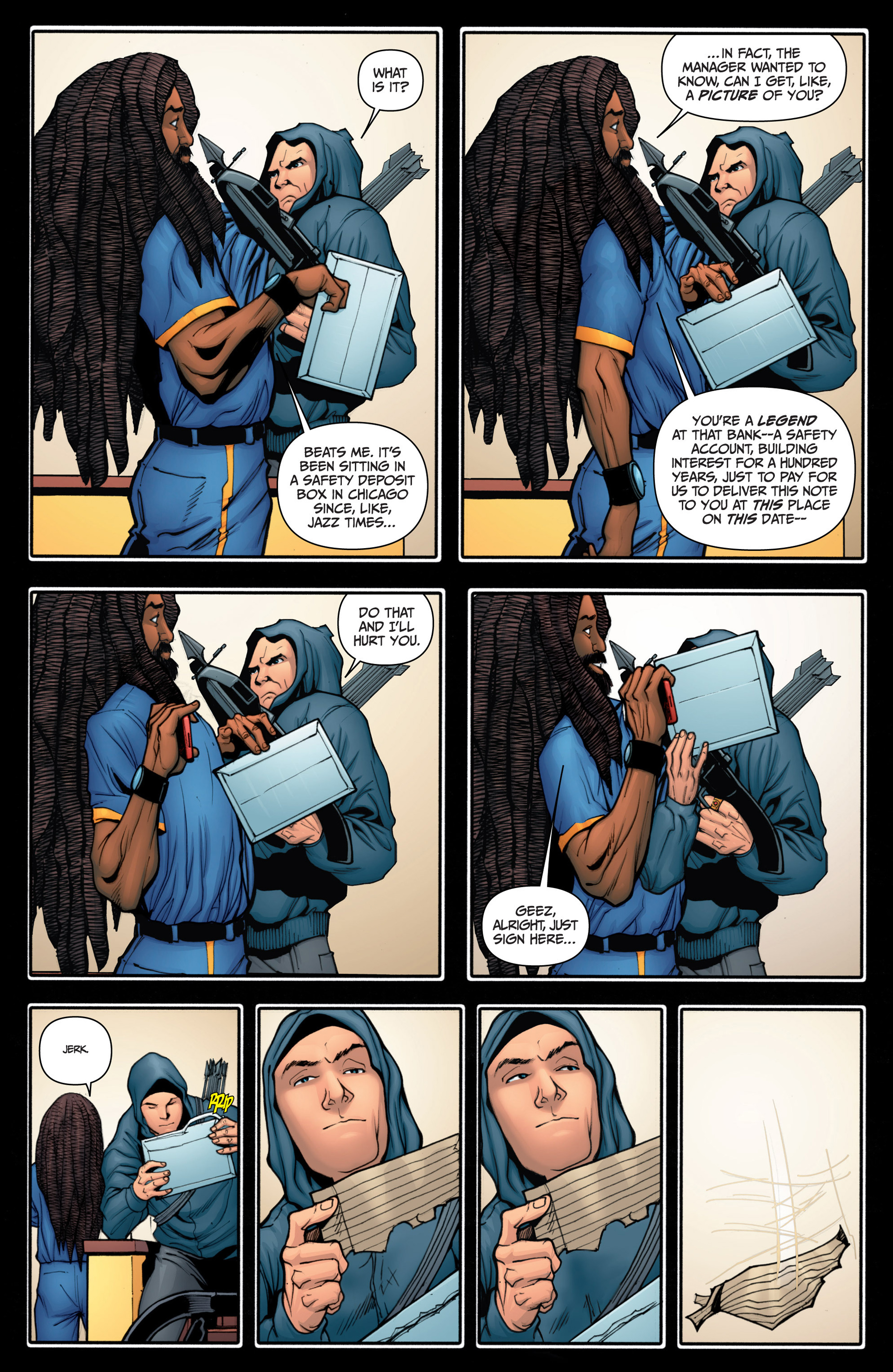 Read online Archer and Armstrong comic -  Issue #15 - 24