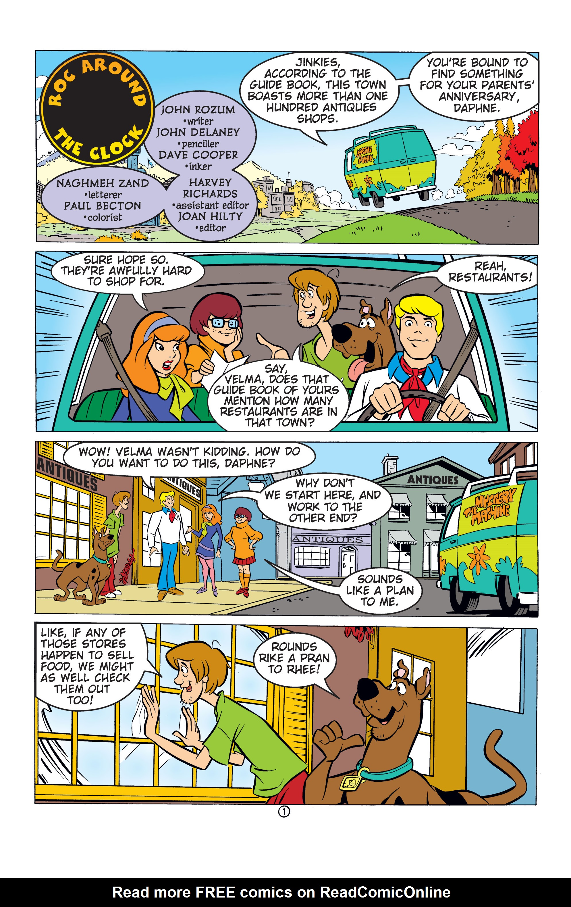 Read online Scooby-Doo: Where Are You? comic -  Issue #53 - 12
