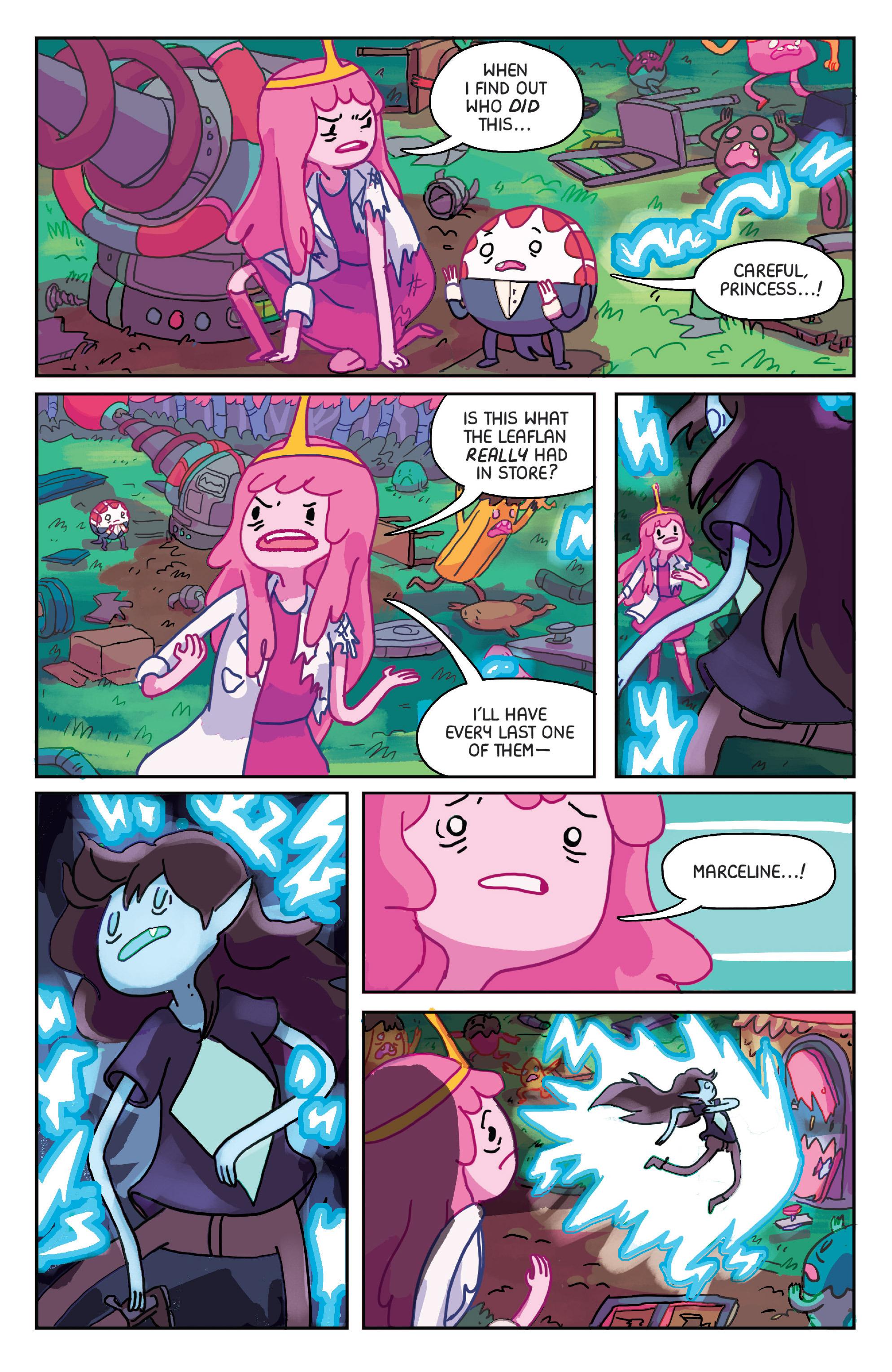 Read online Adventure Time: Marceline Gone Adrift comic -  Issue #1 - 13