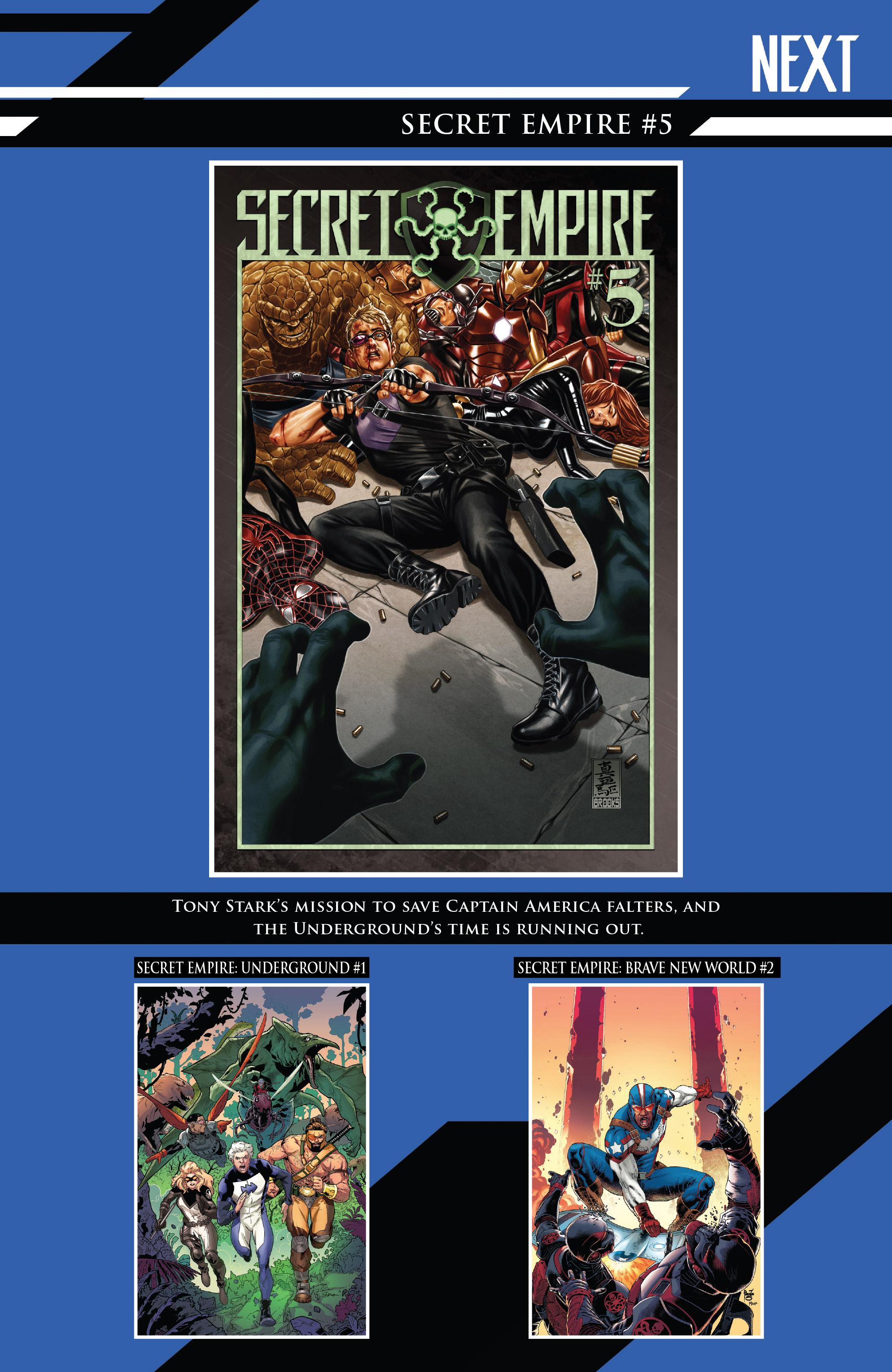 Read online Secret Empire: United comic -  Issue # Full - 32