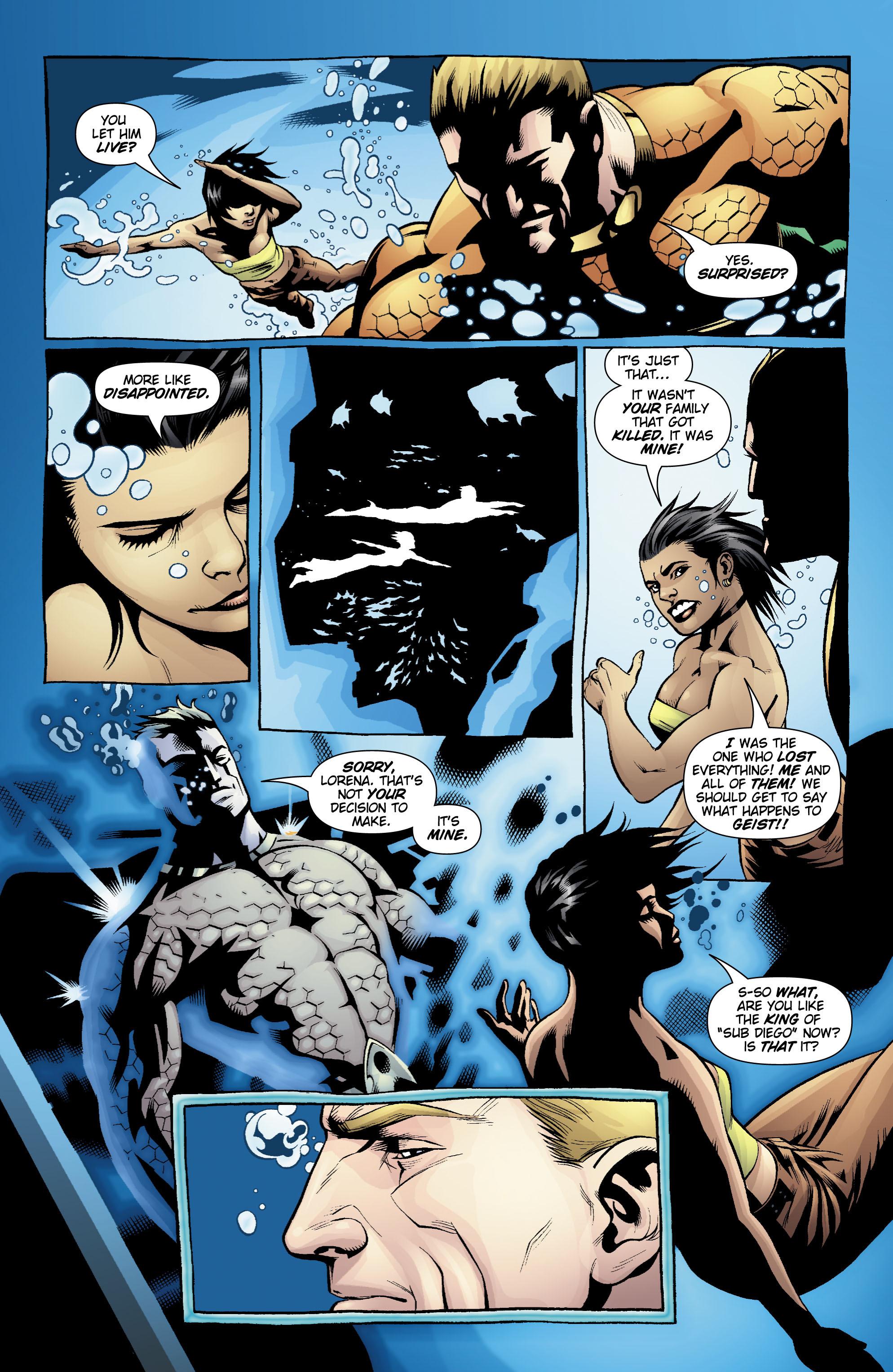 Read online Aquaman (2003) comic -  Issue #20 - 18