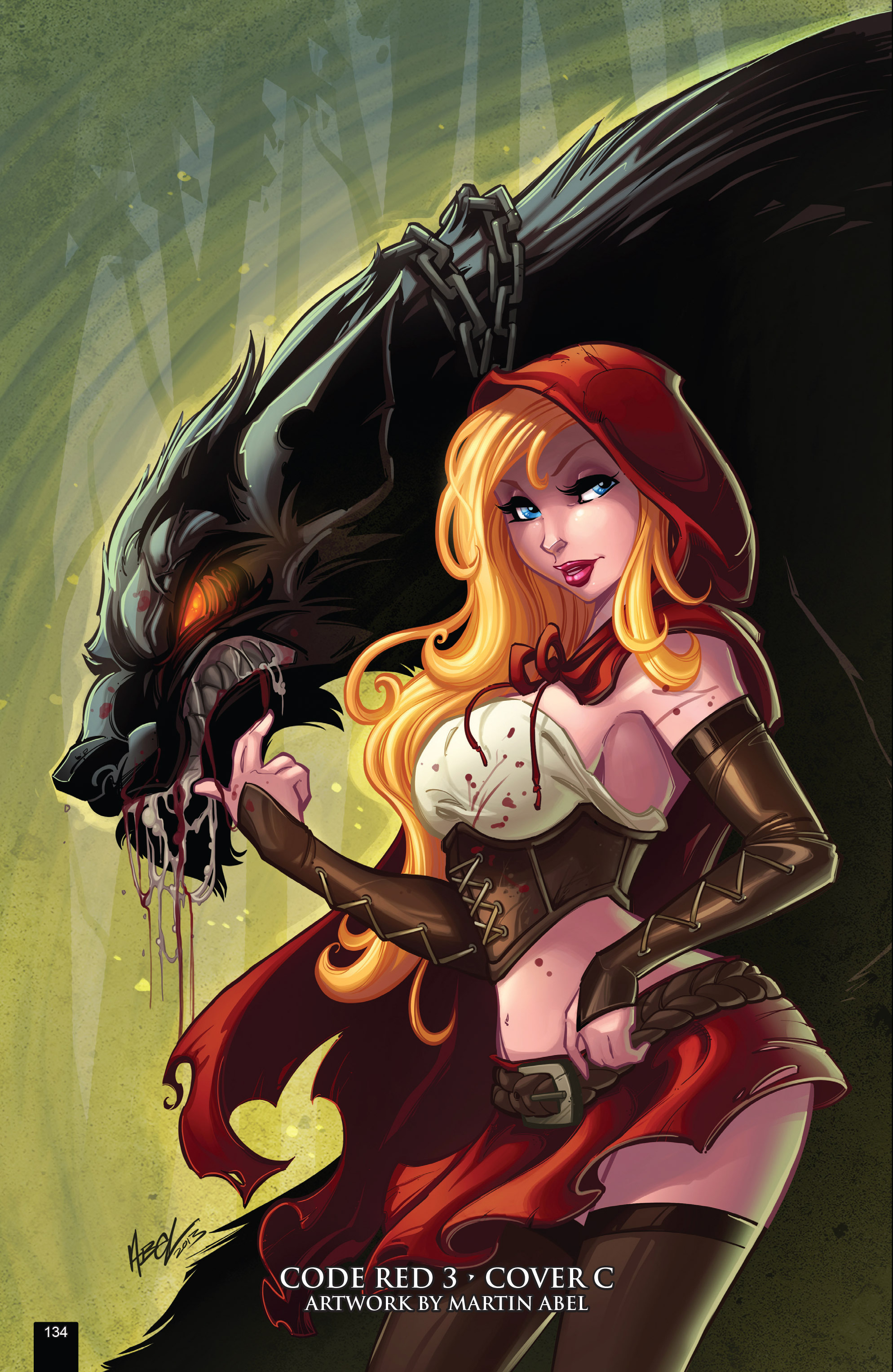 Read online Grimm Fairy Tales presents Code Red comic -  Issue # TPB - 134