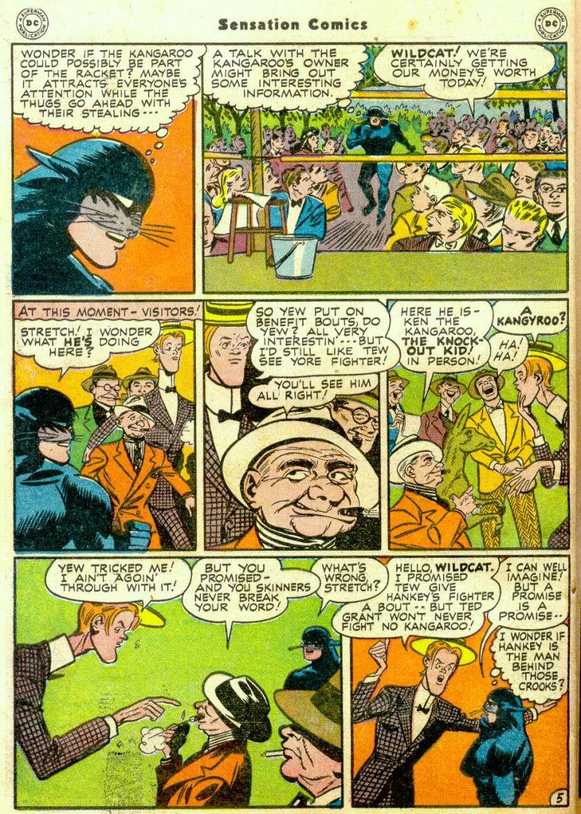 Read online Sensation (Mystery) Comics comic -  Issue #65 - 45