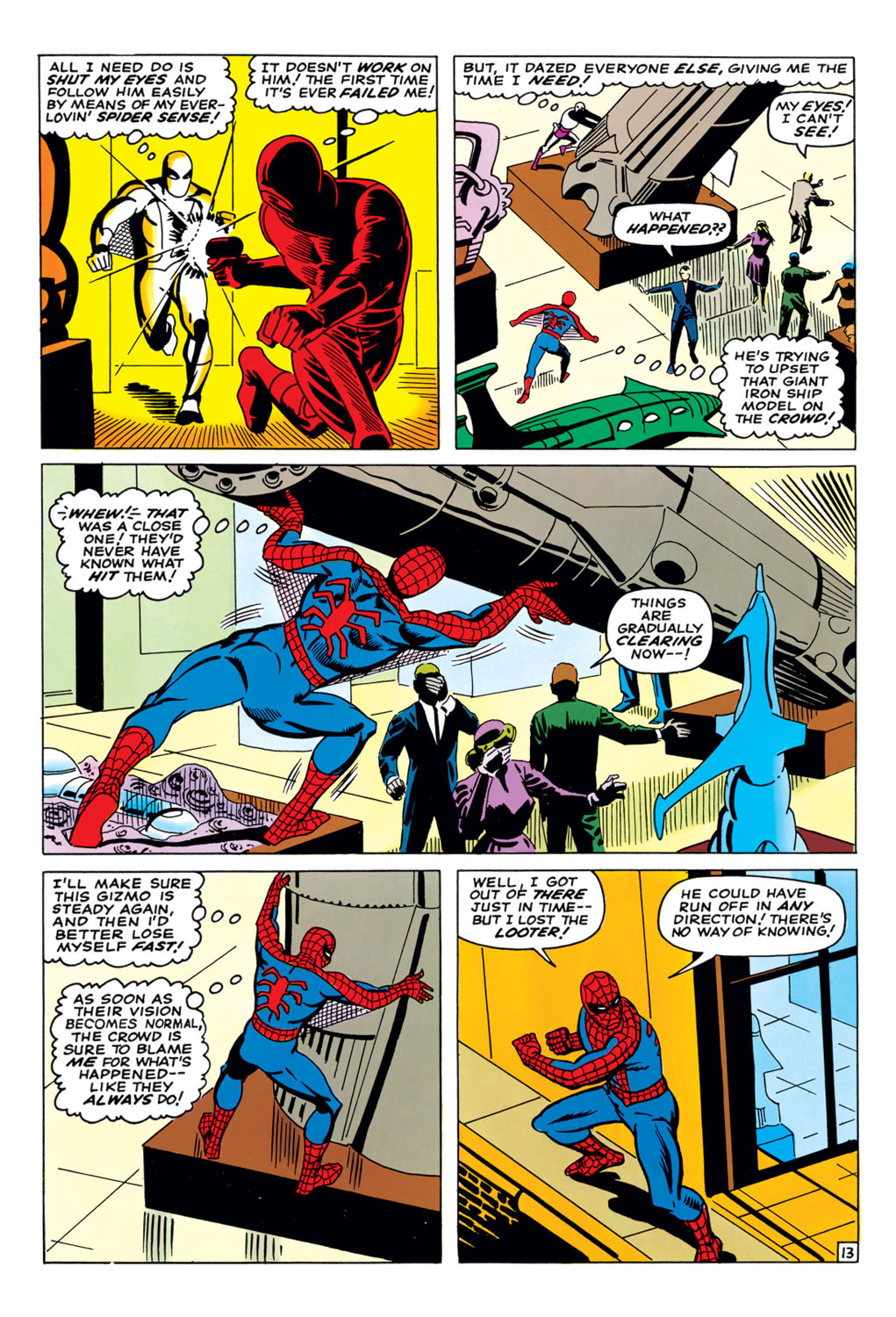 The Amazing Spider-Man (1963) 36 Page 13