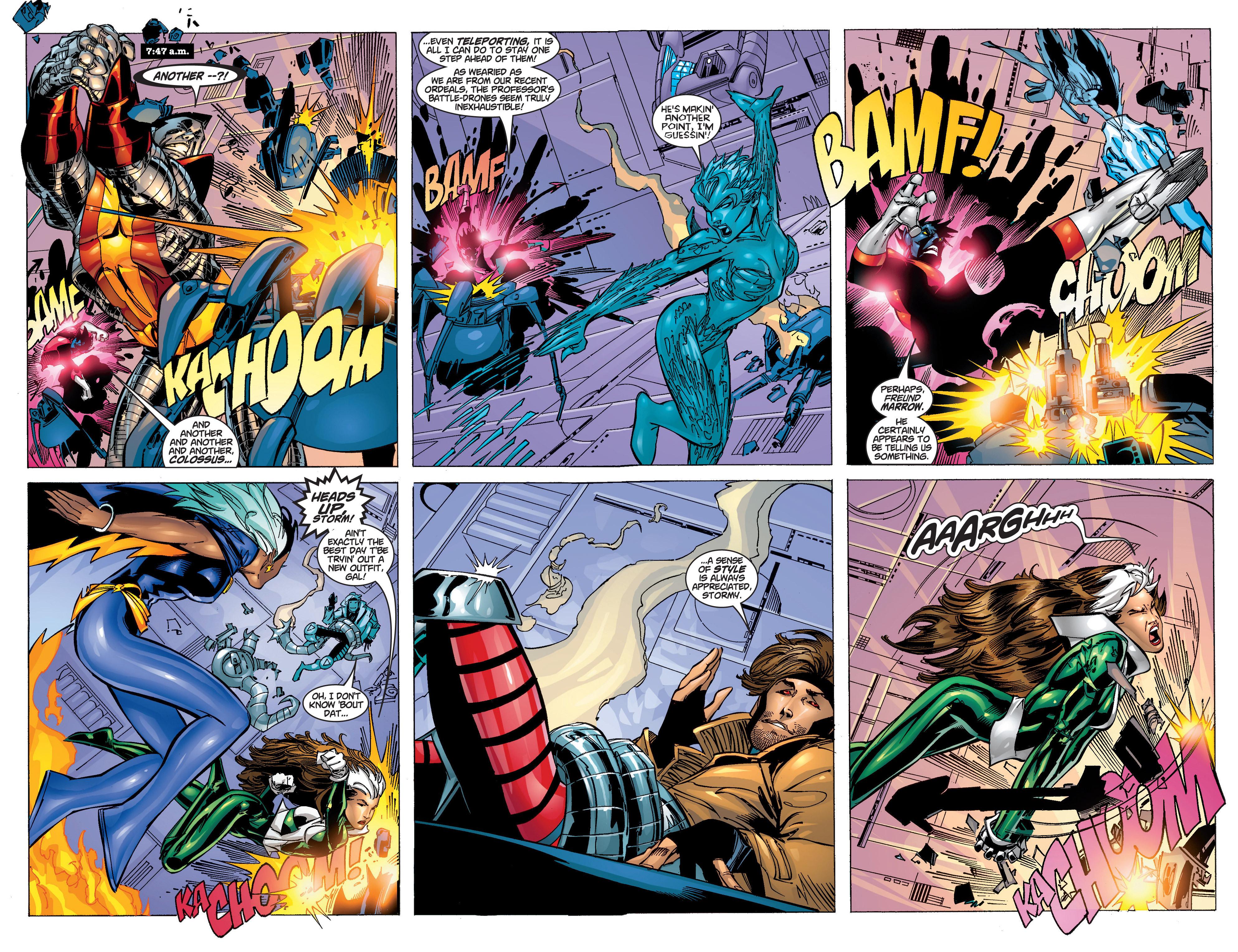 Read online Uncanny X-Men (1963) comic -  Issue #372 - 8