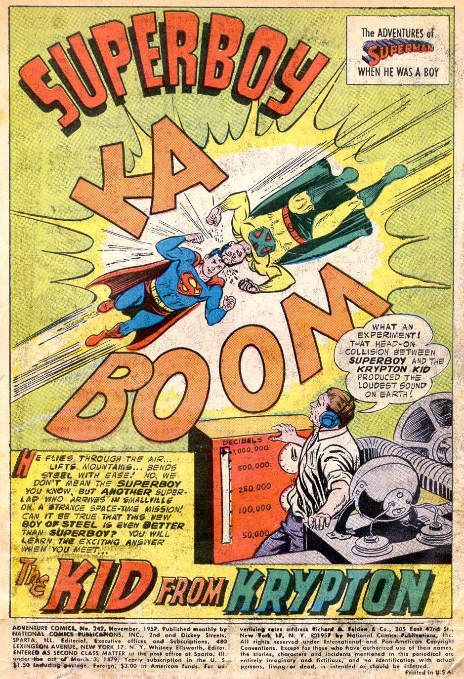 Read online Adventure Comics (1938) comic -  Issue #242 - 3
