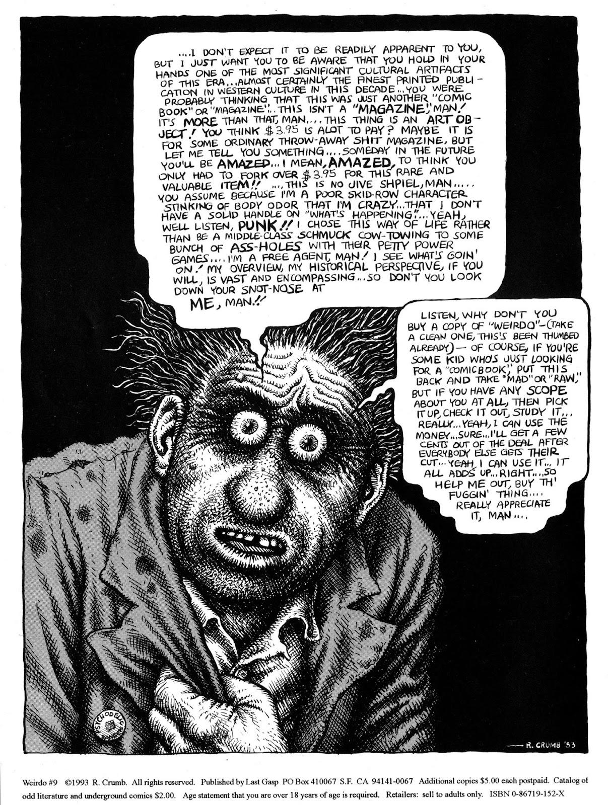 Weirdo 9 Page 2