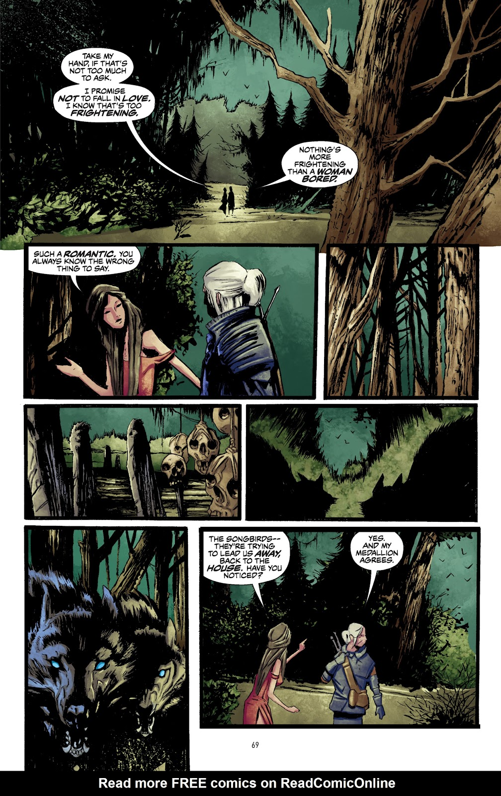 Read online The Witcher Omnibus comic -  Issue # TPB (Part 1) - 68