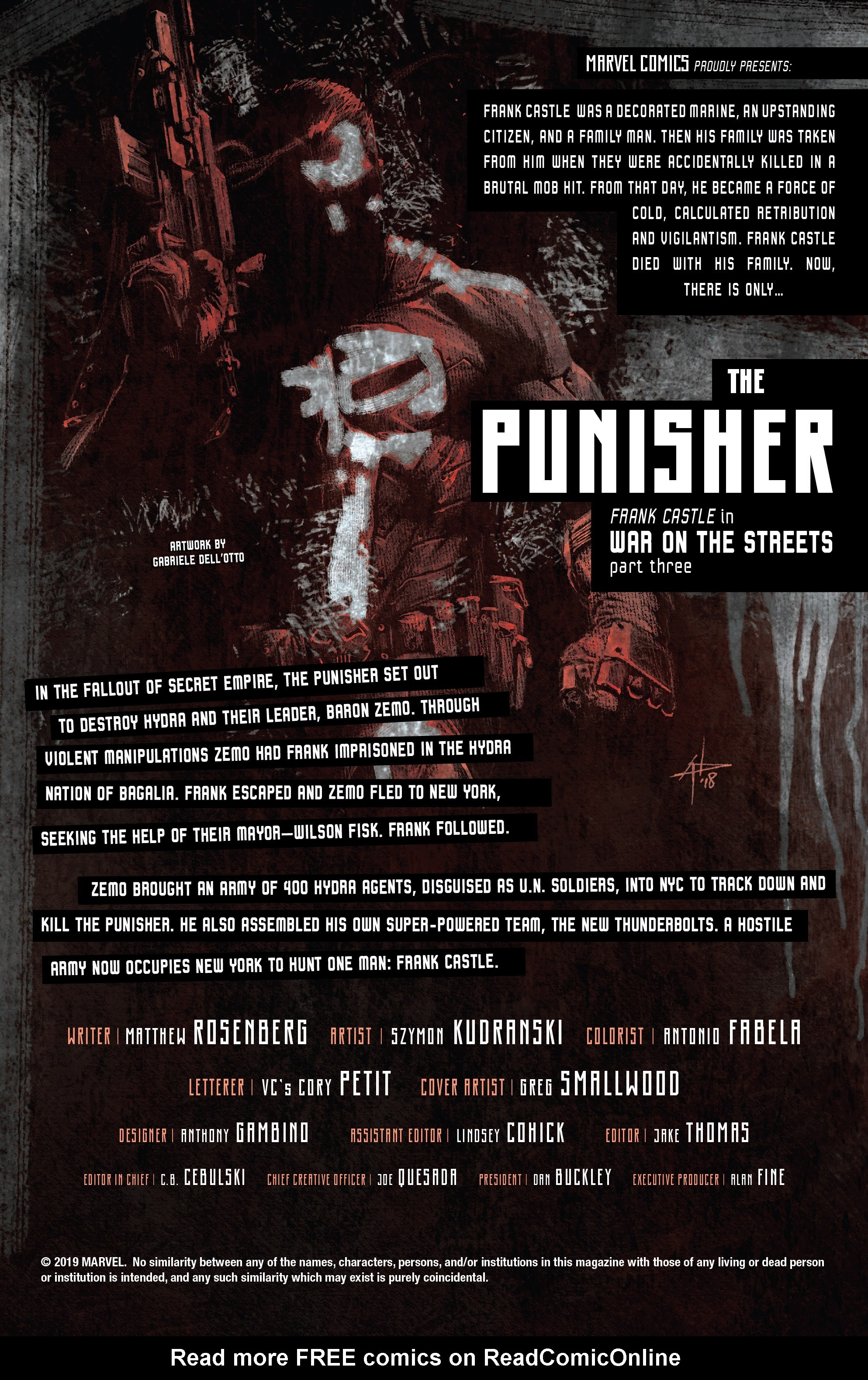 Read online The Punisher (2018) comic -  Issue #14 - 2