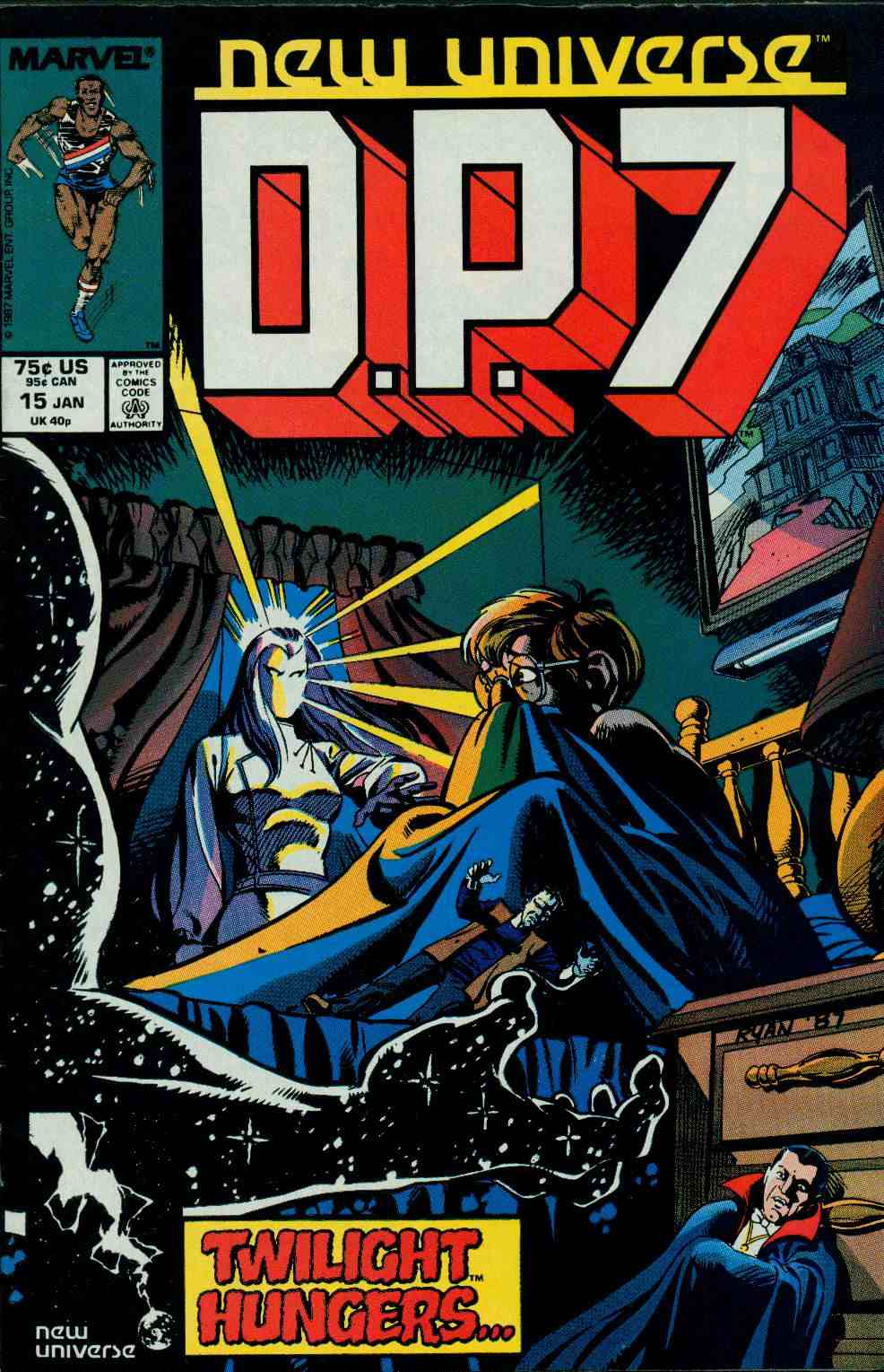 Read online DP7 comic -  Issue #15 - 1