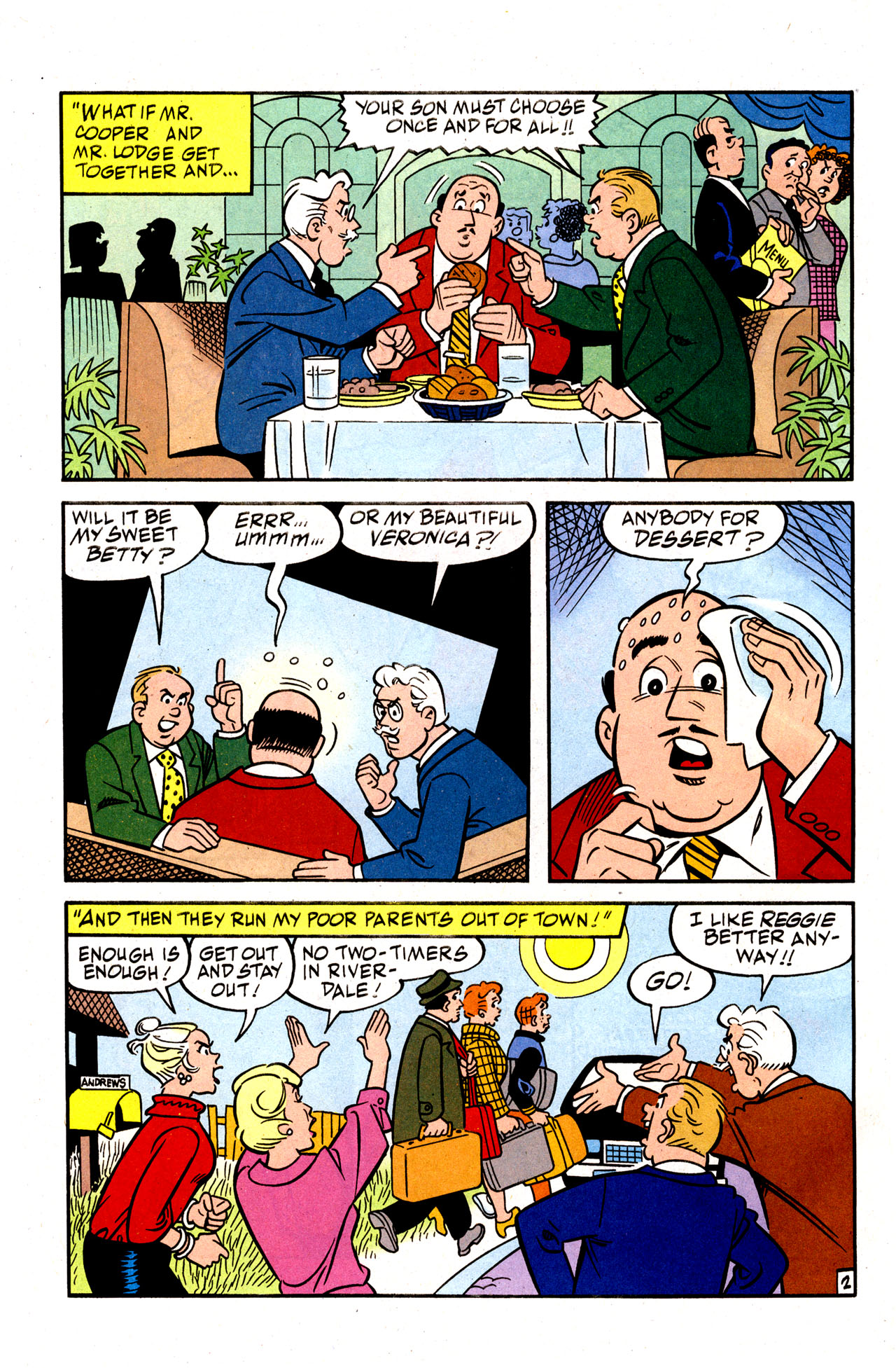 Read online Archie (1960) comic -  Issue #574 - 4