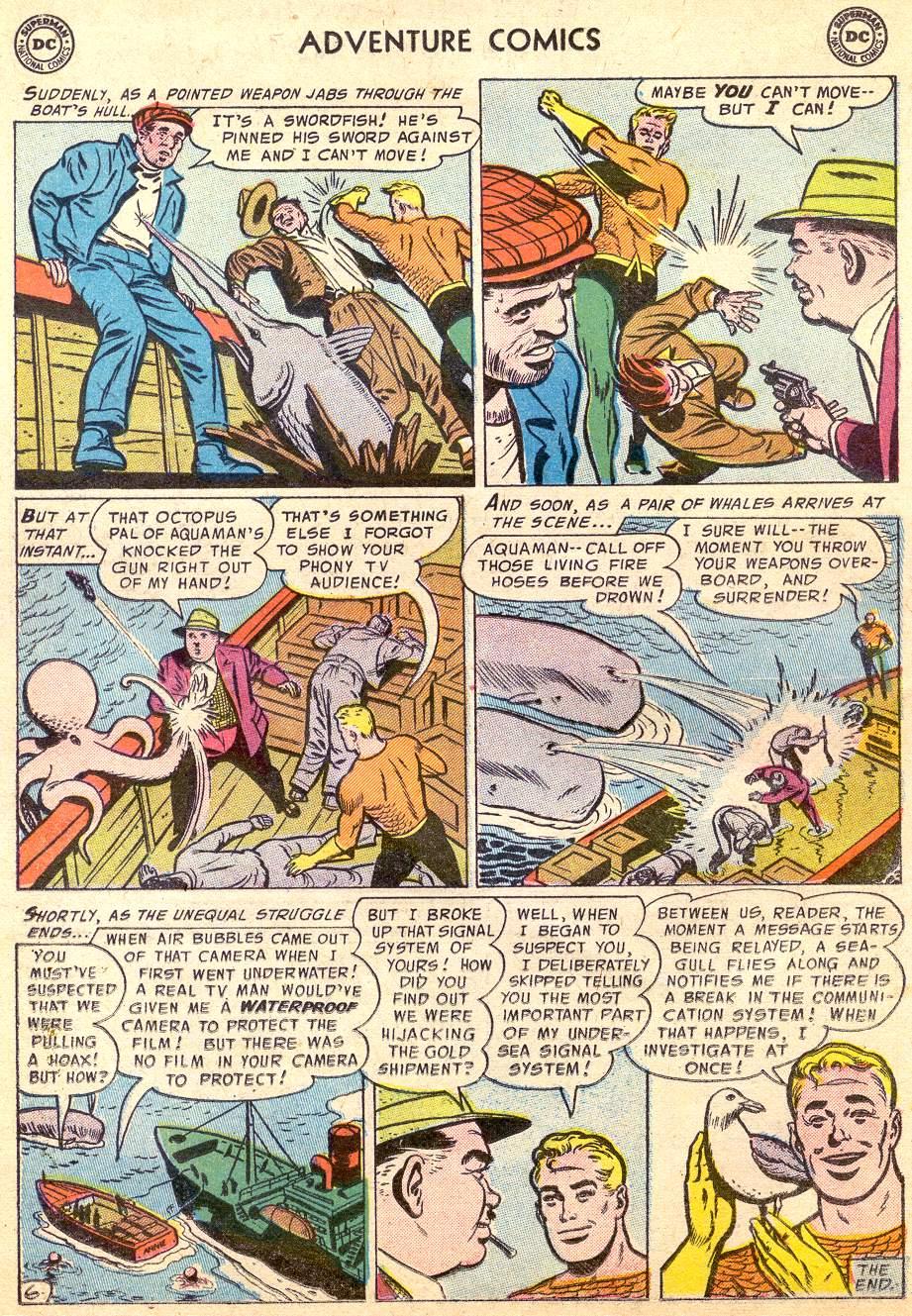 Read online Adventure Comics (1938) comic -  Issue #227 - 22