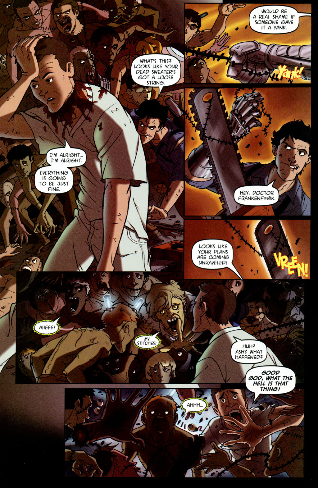 Read online Army of Darkness vs. Re-Animator comic -  Issue #4 - 19