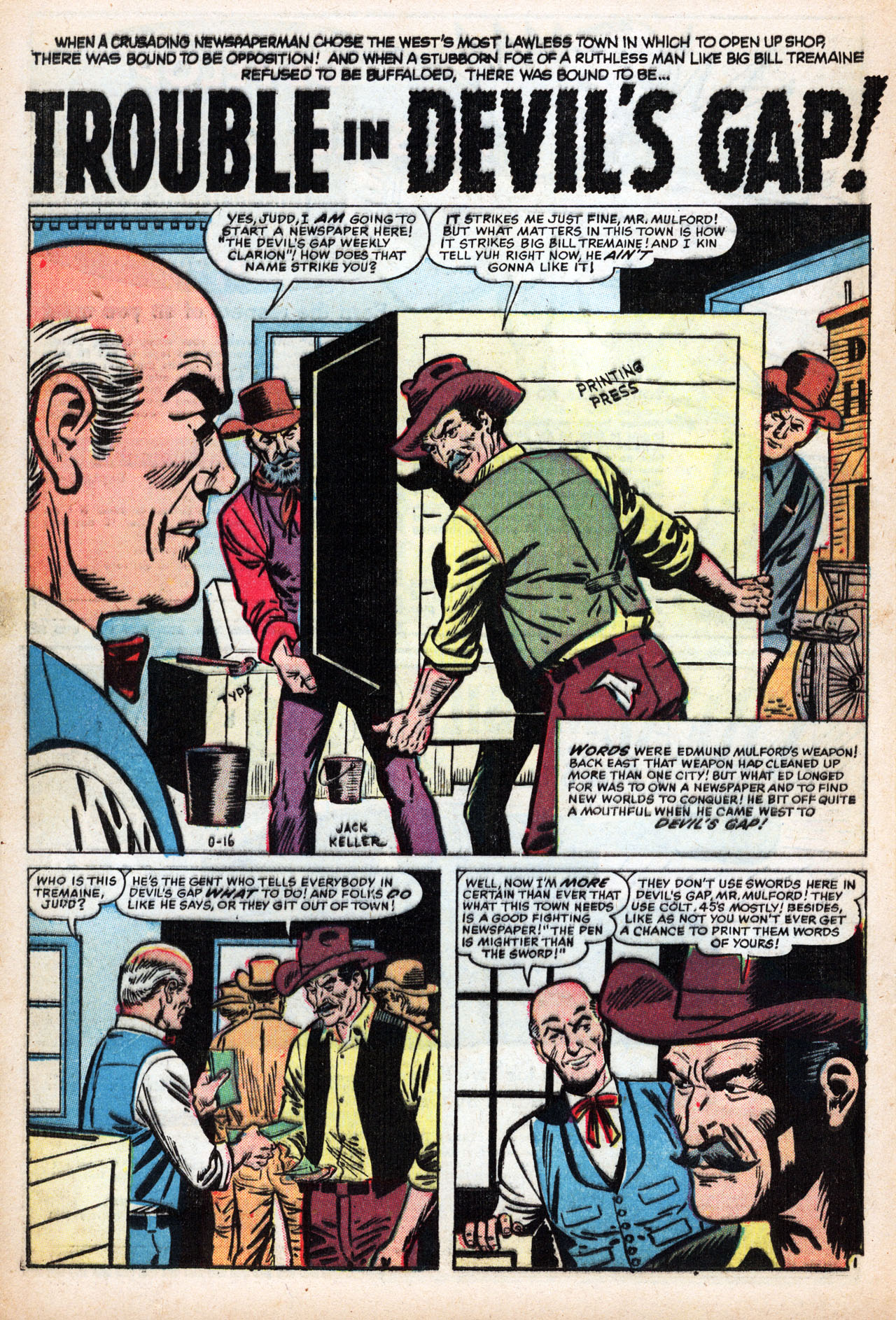 Read online Two-Gun Kid comic -  Issue #42 - 20