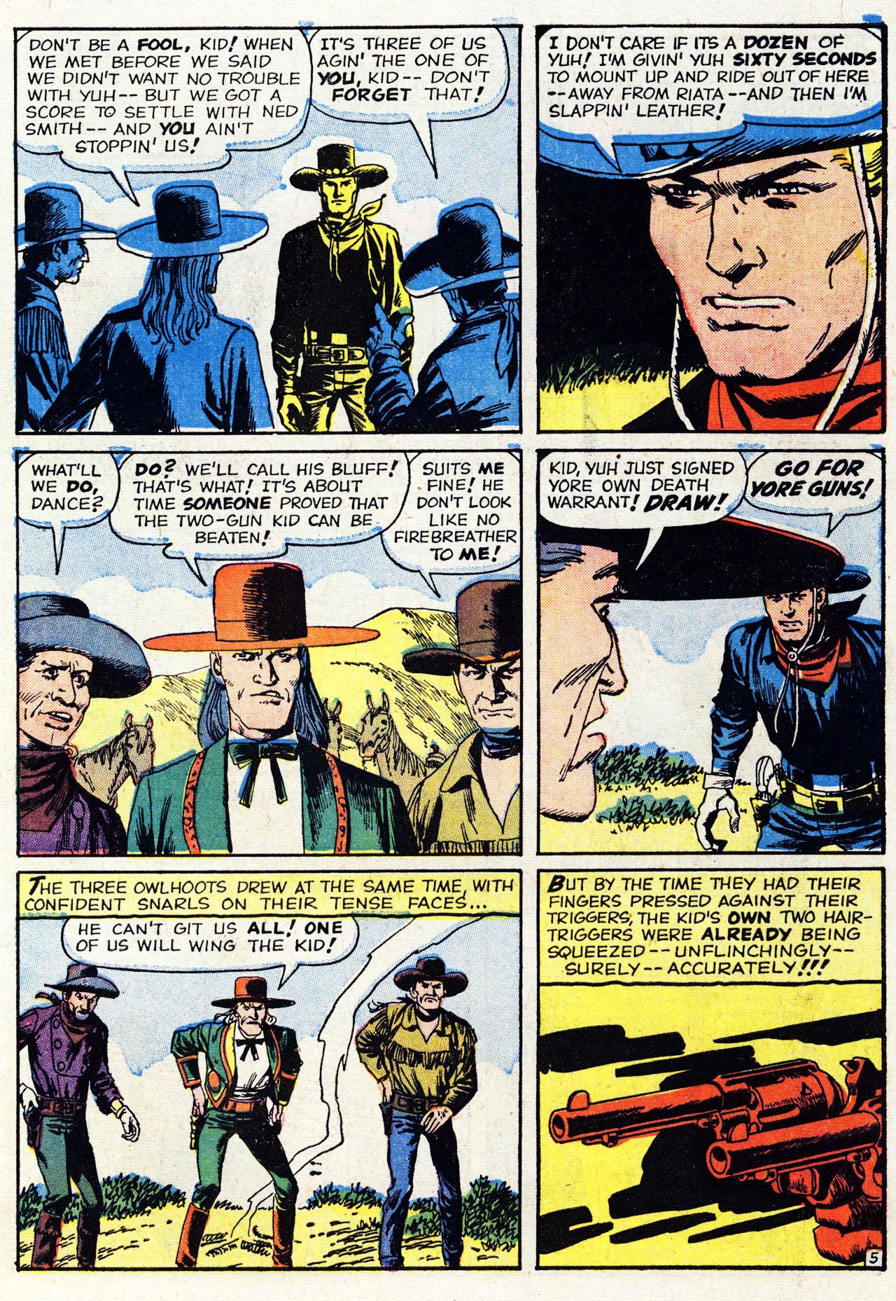 Read online Two-Gun Kid comic -  Issue #53 - 7