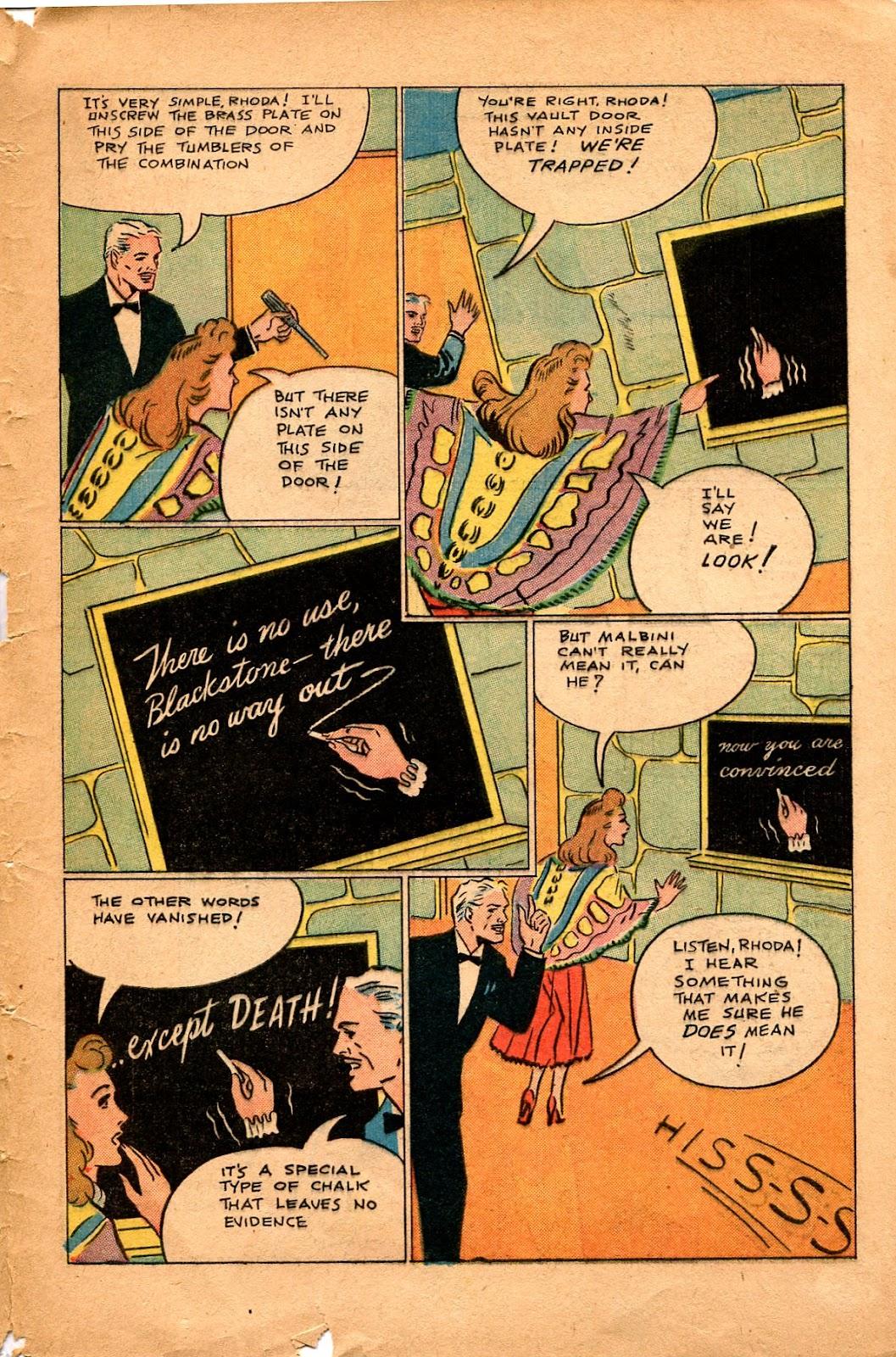 Read online Super-Magician Comics comic -  Issue #34 - 47