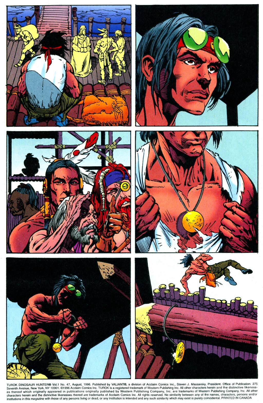 Read online Turok, Dinosaur Hunter (1993) comic -  Issue #47 - 3