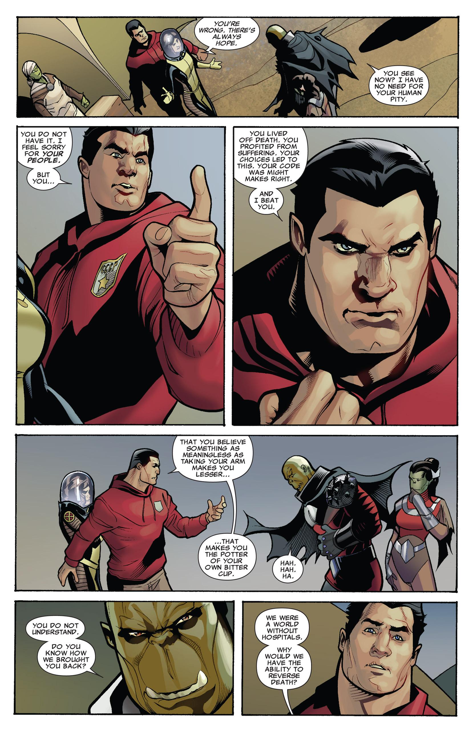 Read online Uncanny X-Men (1963) comic -  Issue #536 - 12
