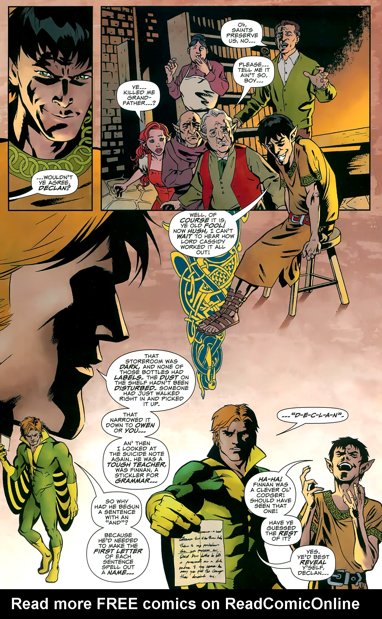 Read online Uncanny X-Men: First Class comic -  Issue #8 - 13