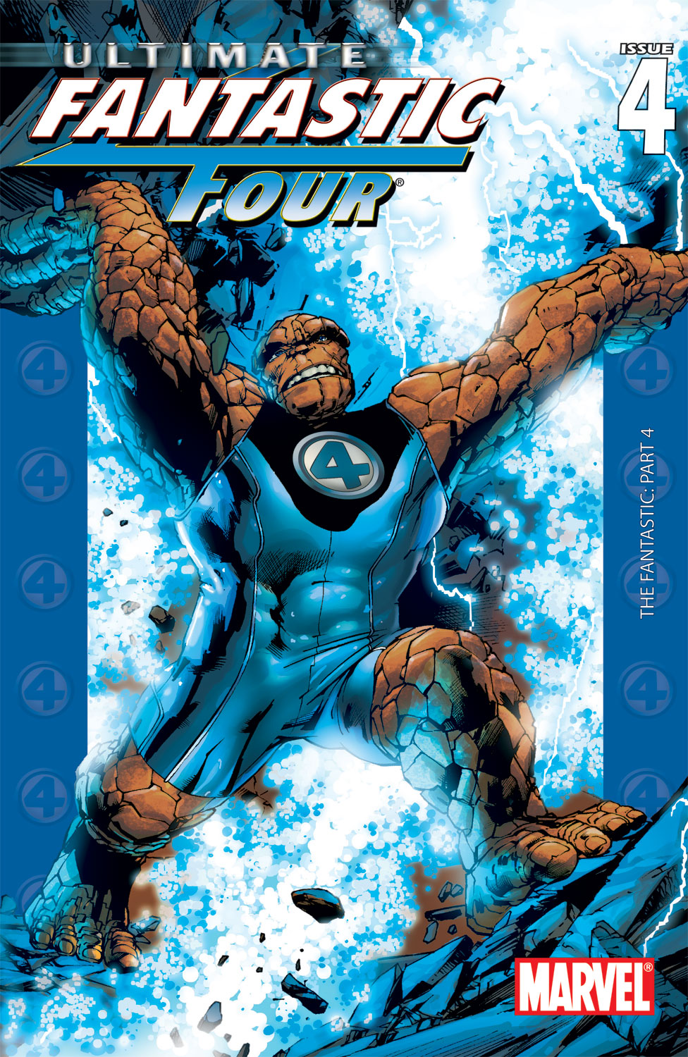 Read online Ultimate Fantastic Four (2004) comic -  Issue #4 - 1