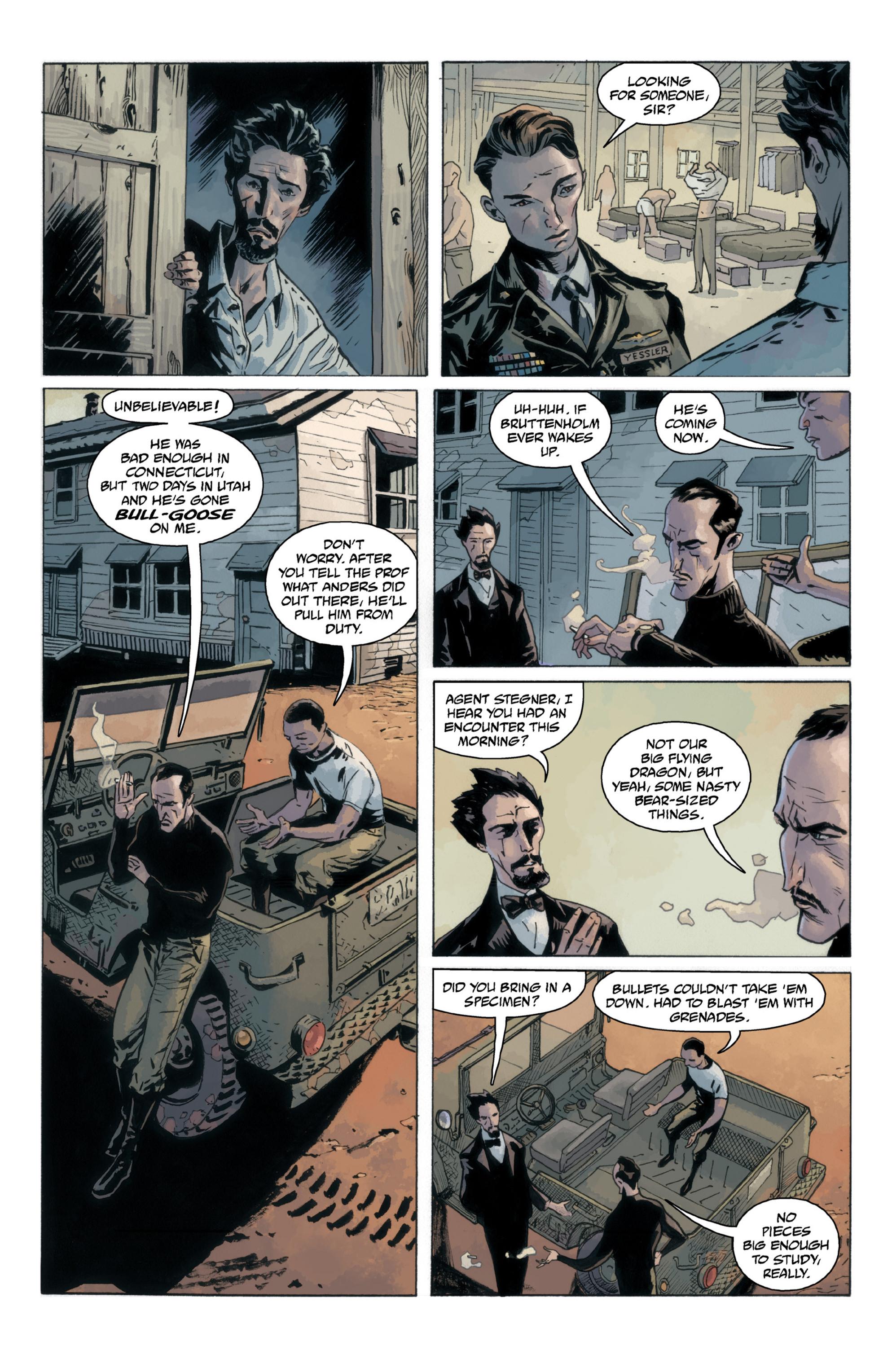 Read online B.P.R.D.: 1948 comic -  Issue # TPB - 39