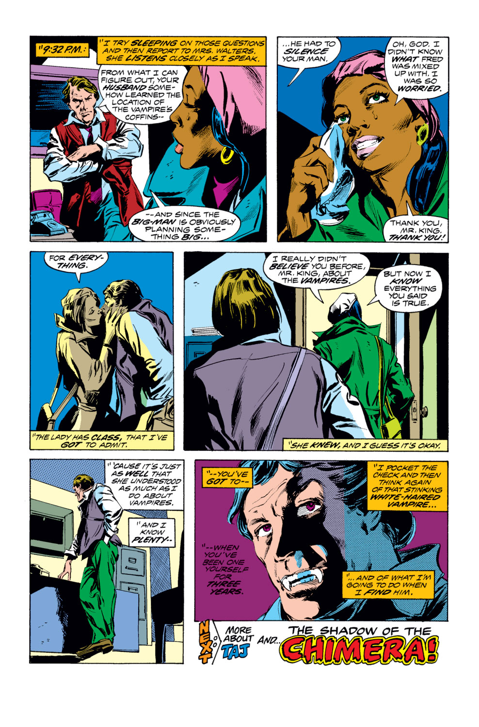 Tomb of Dracula (1972) issue 25 - Page 18