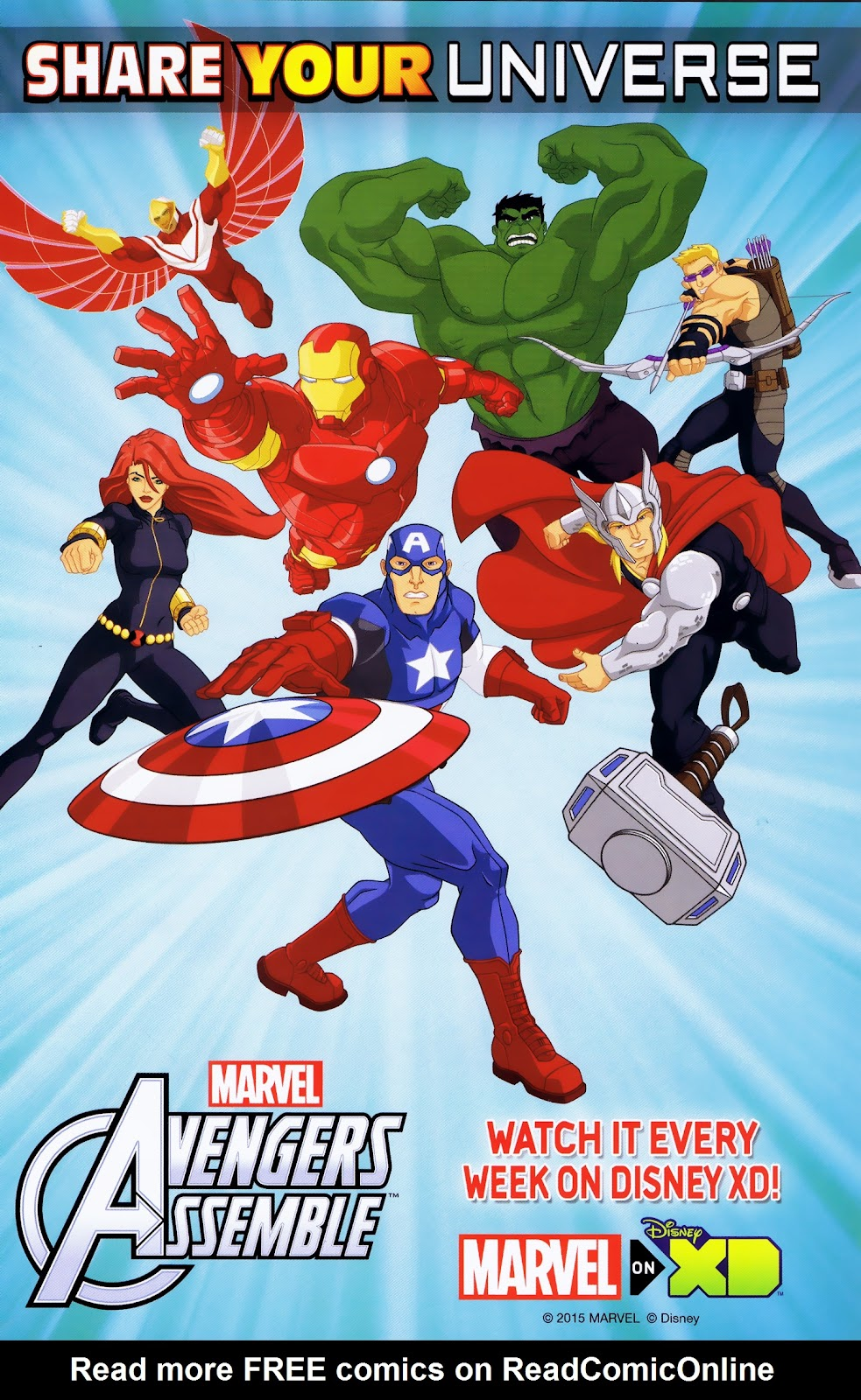 Read online Marvel Universe Avengers Assemble Season 2 comic -  Issue #16 - 31