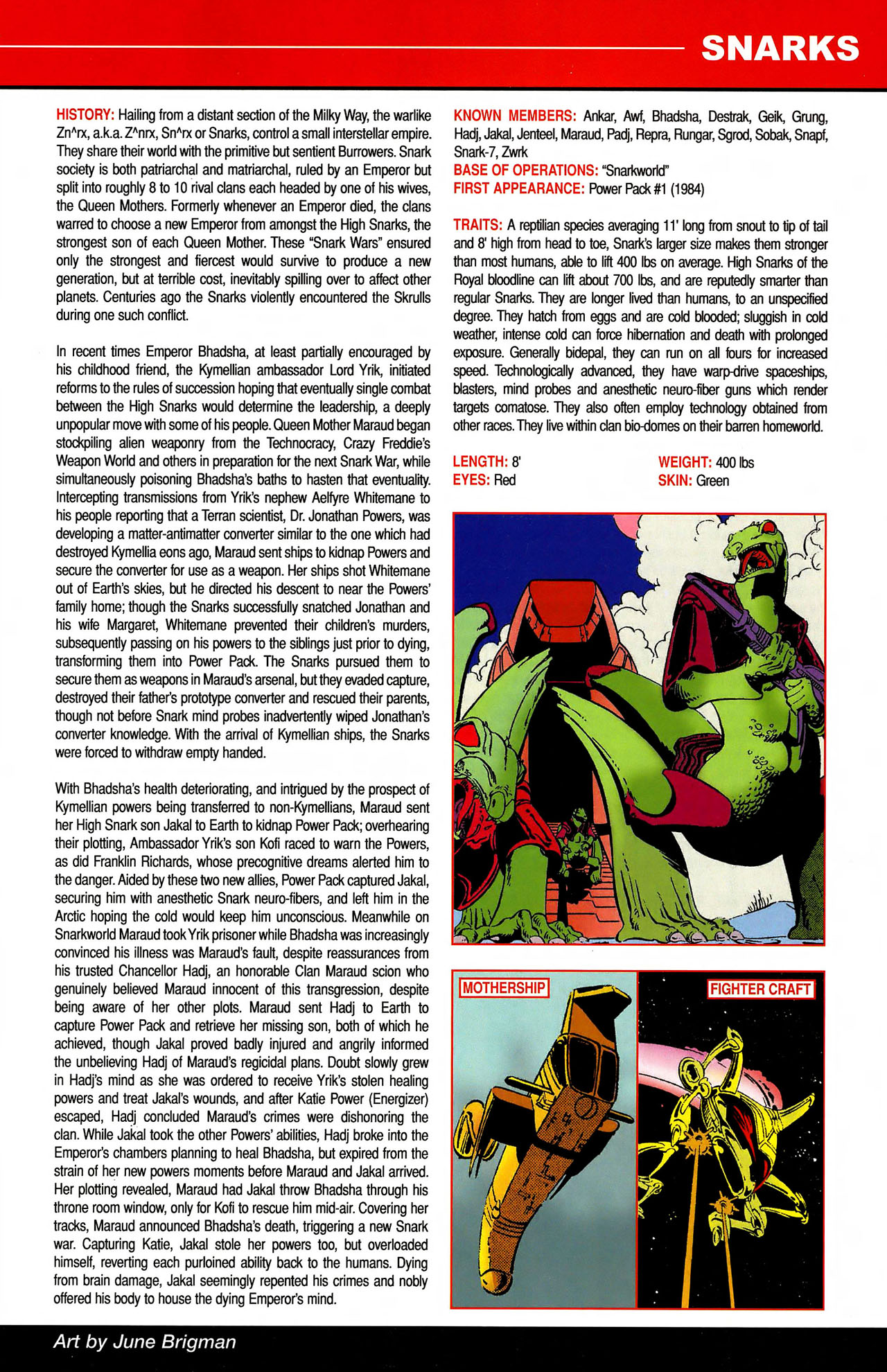 Read online All-New Official Handbook of the Marvel Universe A to Z comic -  Issue #10 - 27