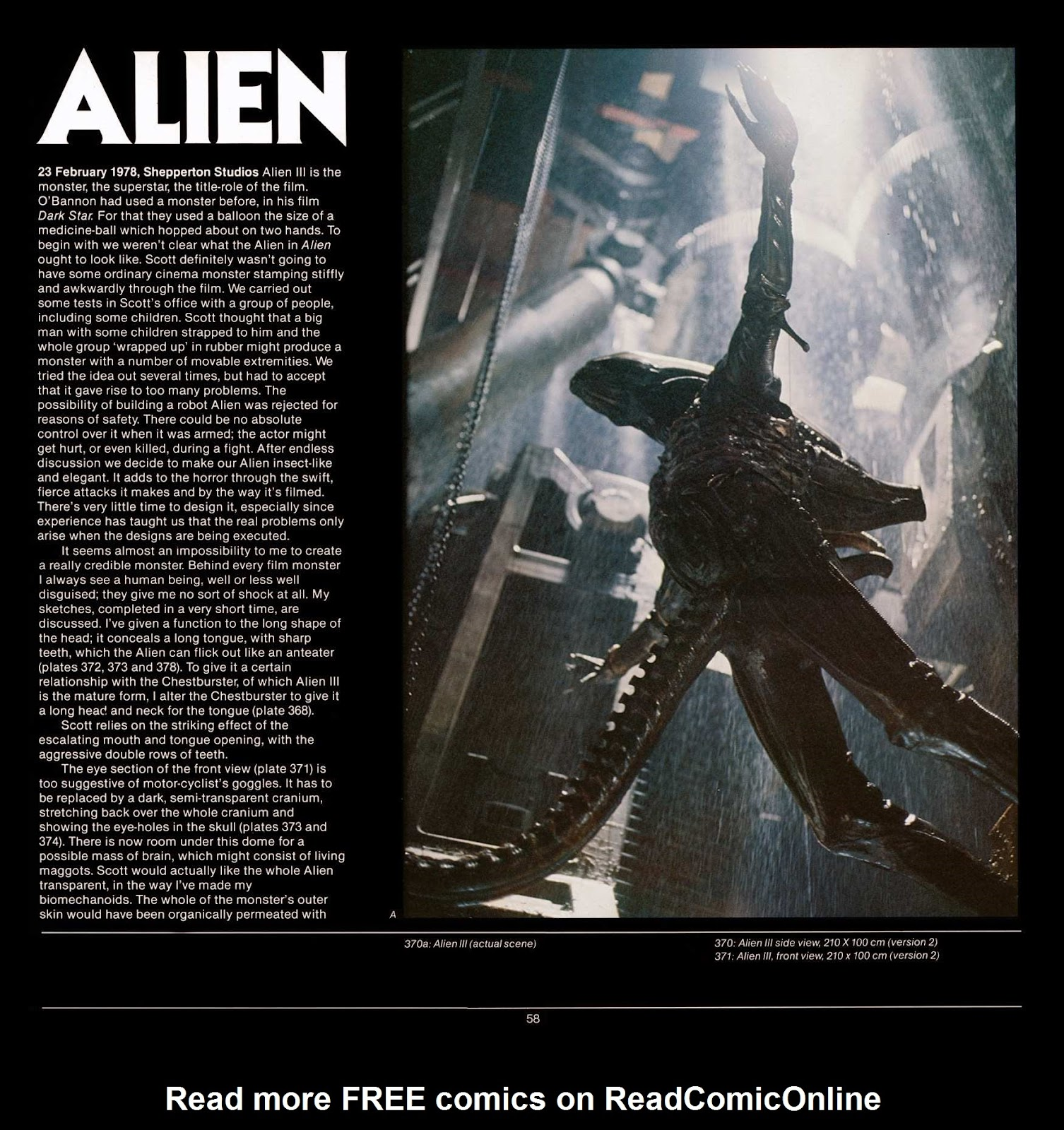 Read online Giger's Alien comic -  Issue # TPB - 60