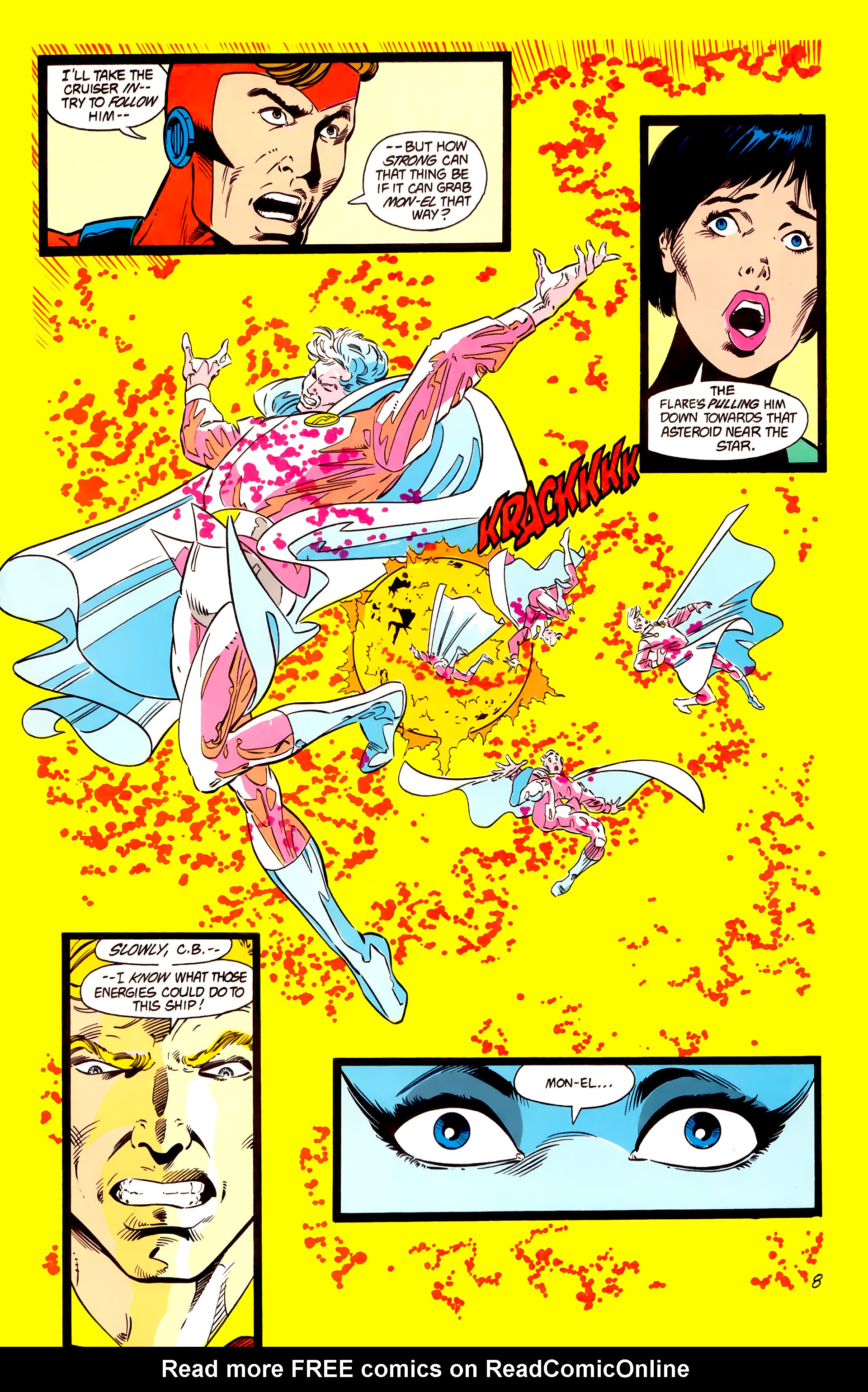 Legion of Super-Heroes (1984) 15 Page 9