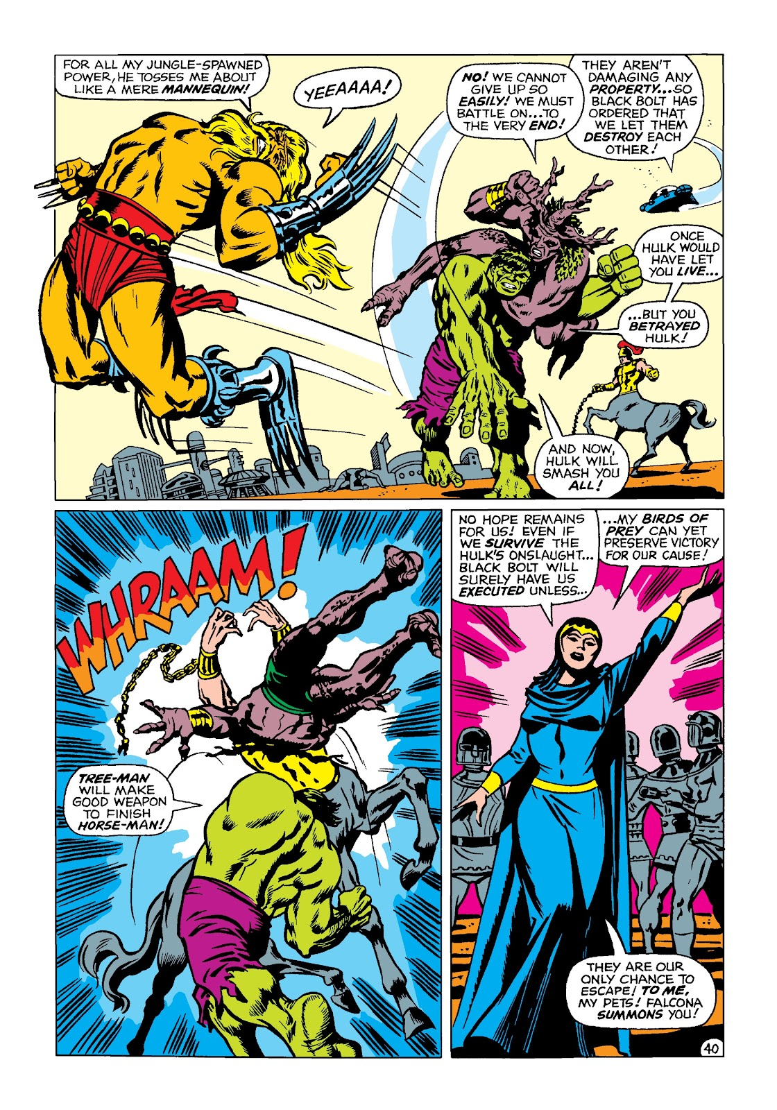 Read online Marvel Masterworks: The Incredible Hulk comic -  Issue # TPB 4 (Part 2) - 73