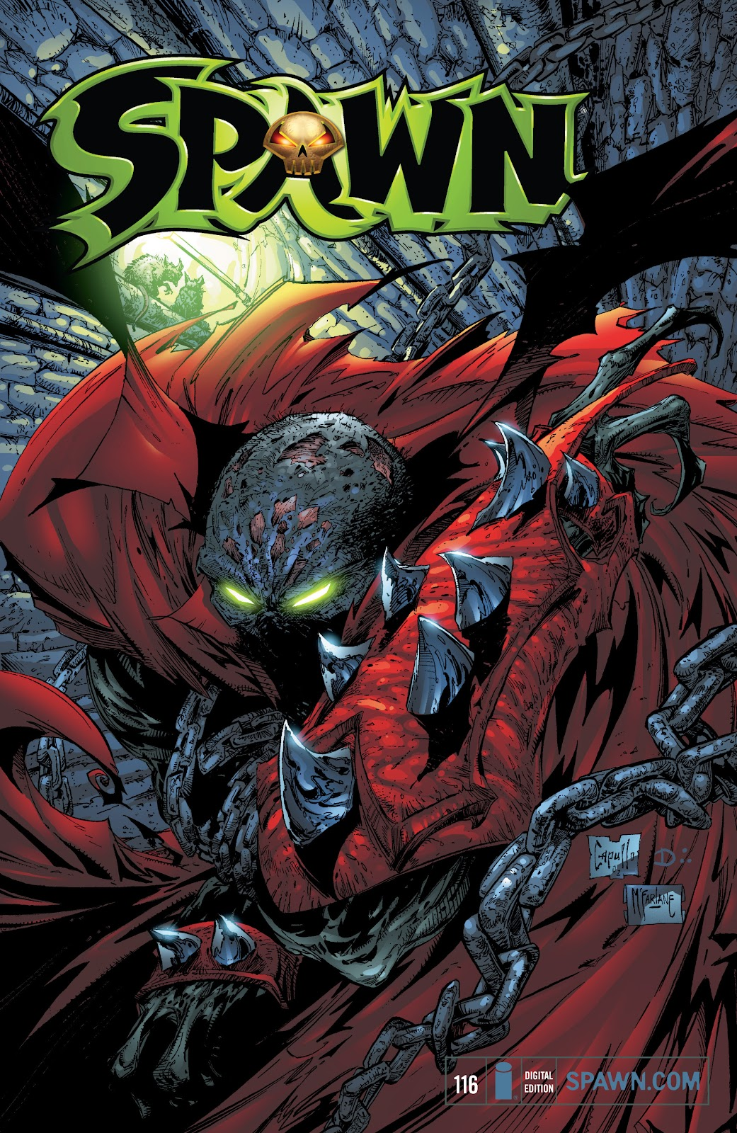 Spawn 116 Page 1