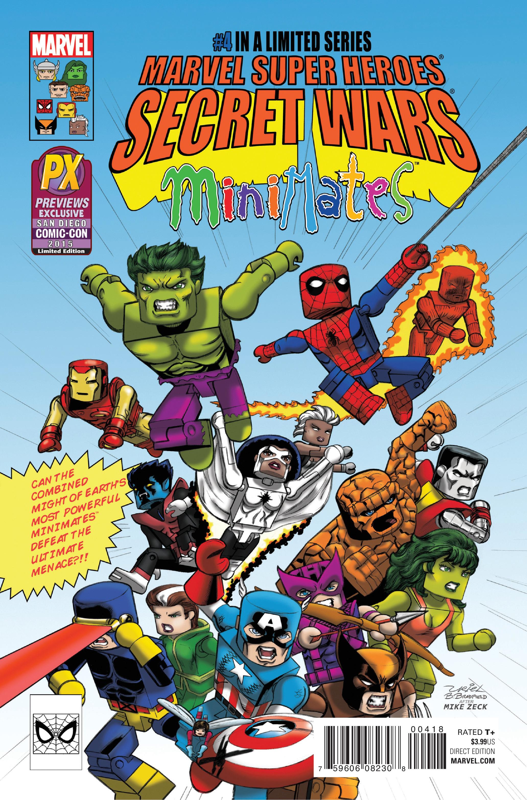 Read online Secret Wars comic -  Issue #4 - 2