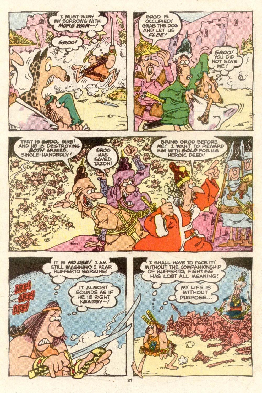 Read online Sergio Aragonés Groo the Wanderer comic -  Issue #38 - 21