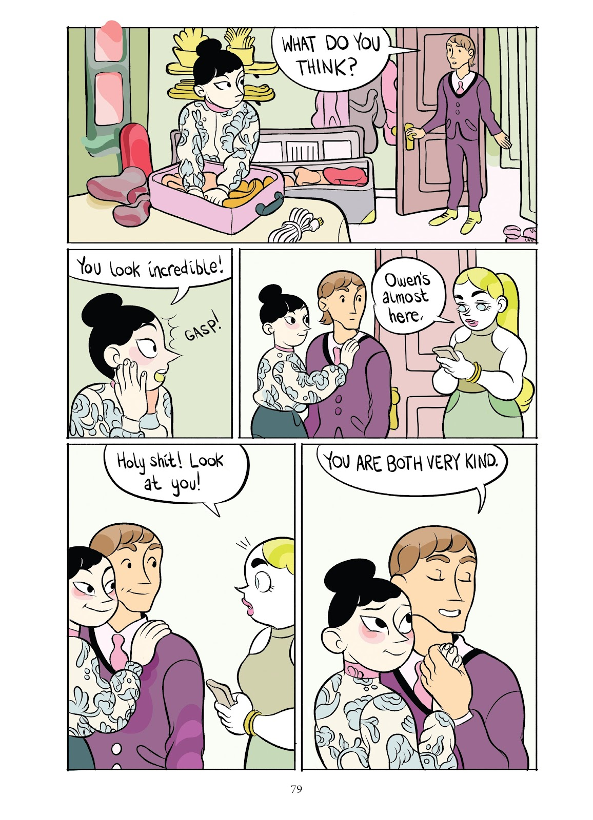 Read online Girl Town comic -  Issue # TPB (Part 1) - 79