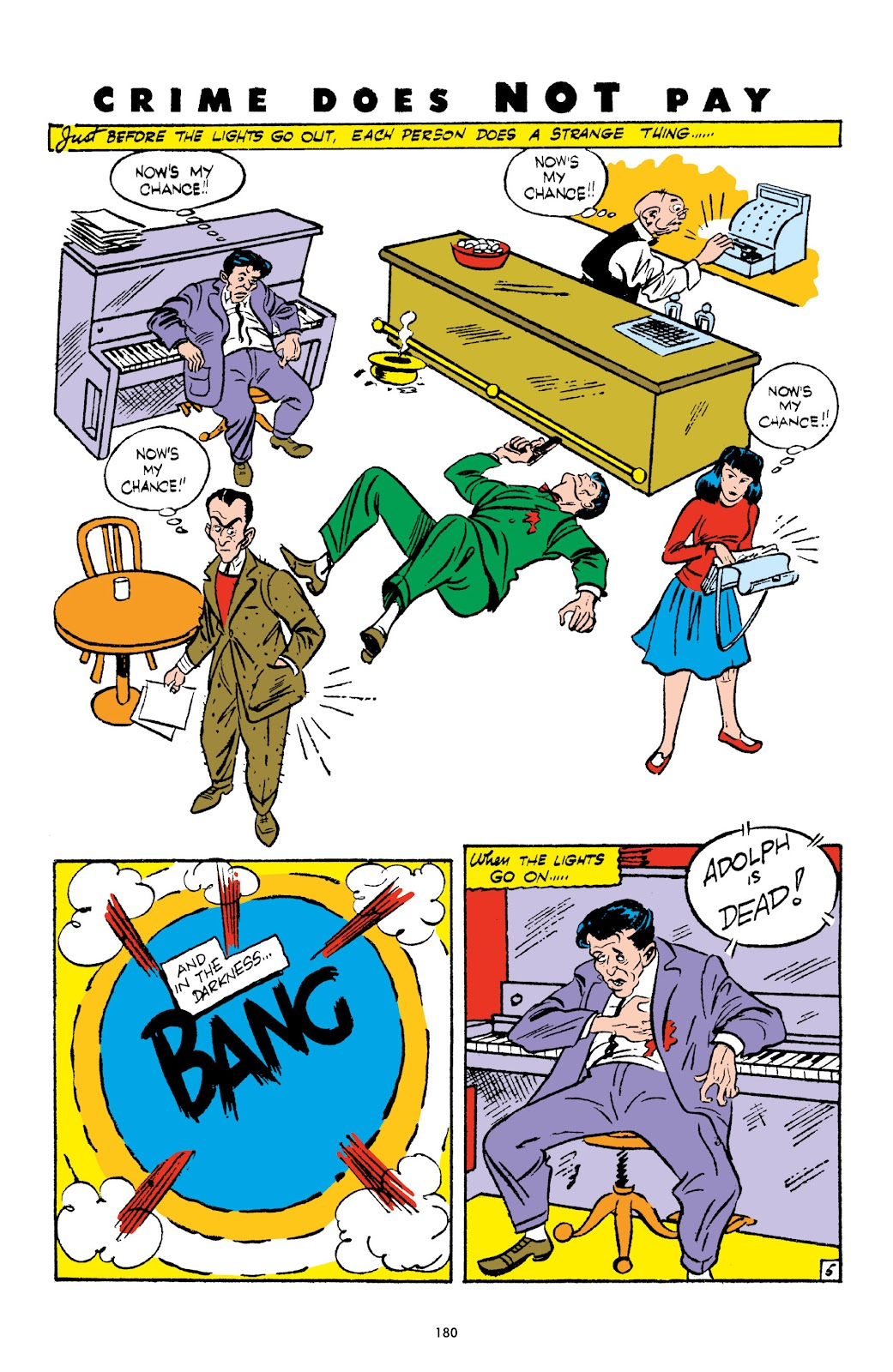 Read online Crime Does Not Pay Archives comic -  Issue # TPB 3 (Part 2) - 80