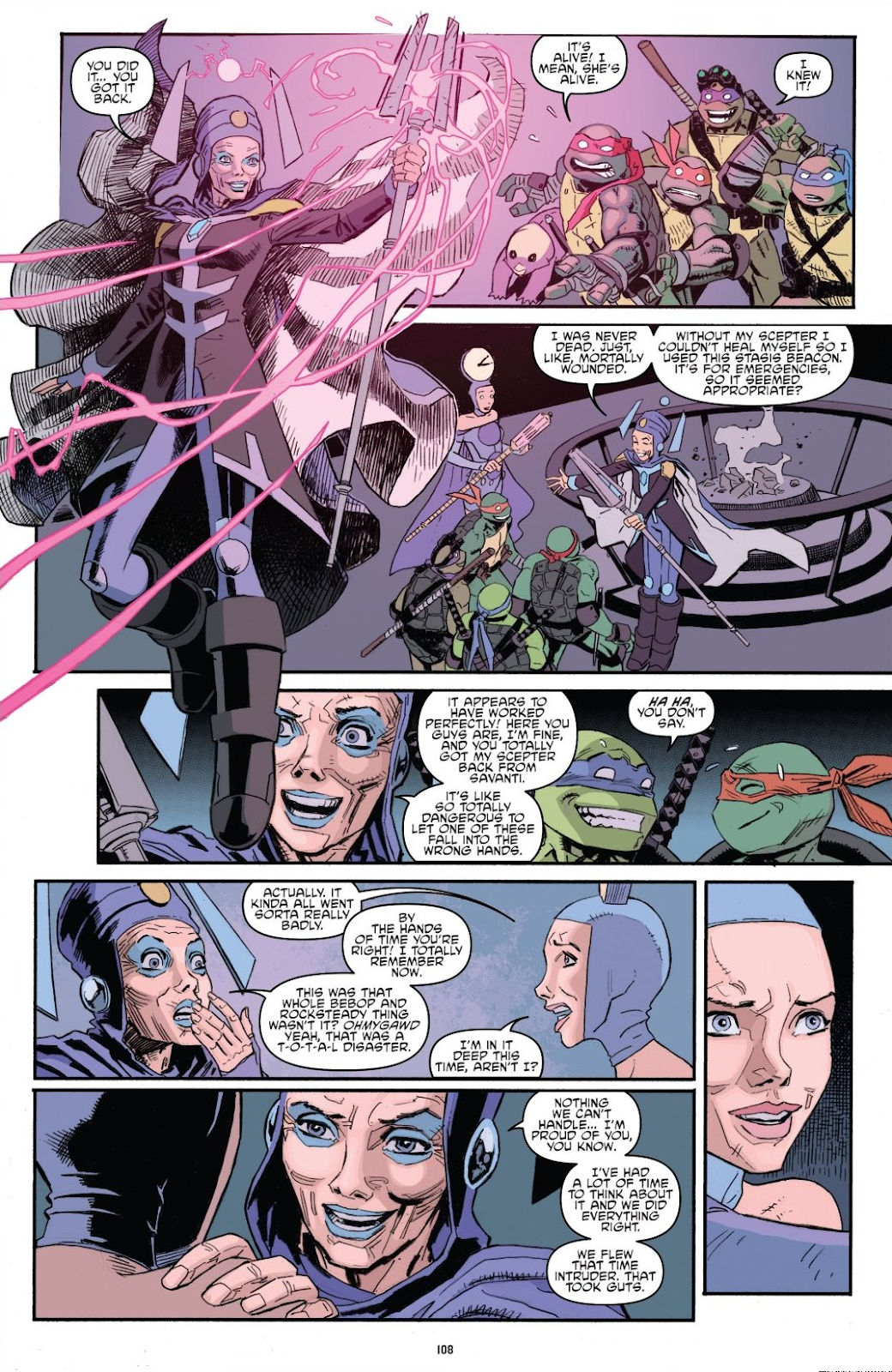 Read online Teenage Mutant Ninja Turtles: The IDW Collection comic -  Issue # TPB 8 (Part 2) - 7
