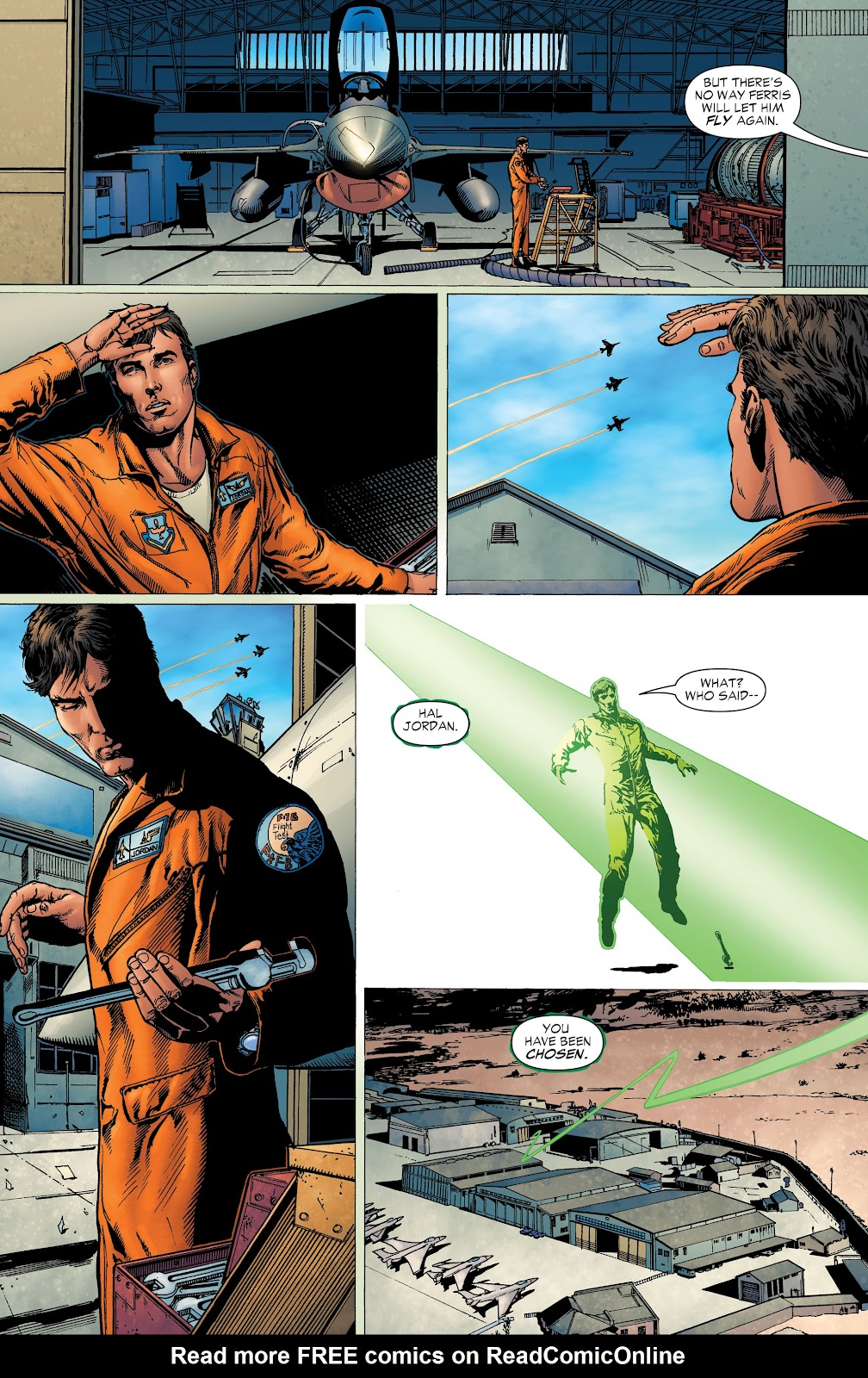 Read online Green Lantern by Geoff Johns comic -  Issue # TPB 1 (Part 3) - 97