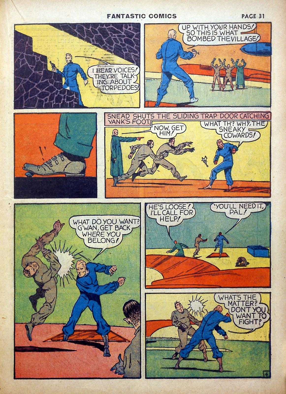 Read online Fantastic Comics comic -  Issue #5 - 32