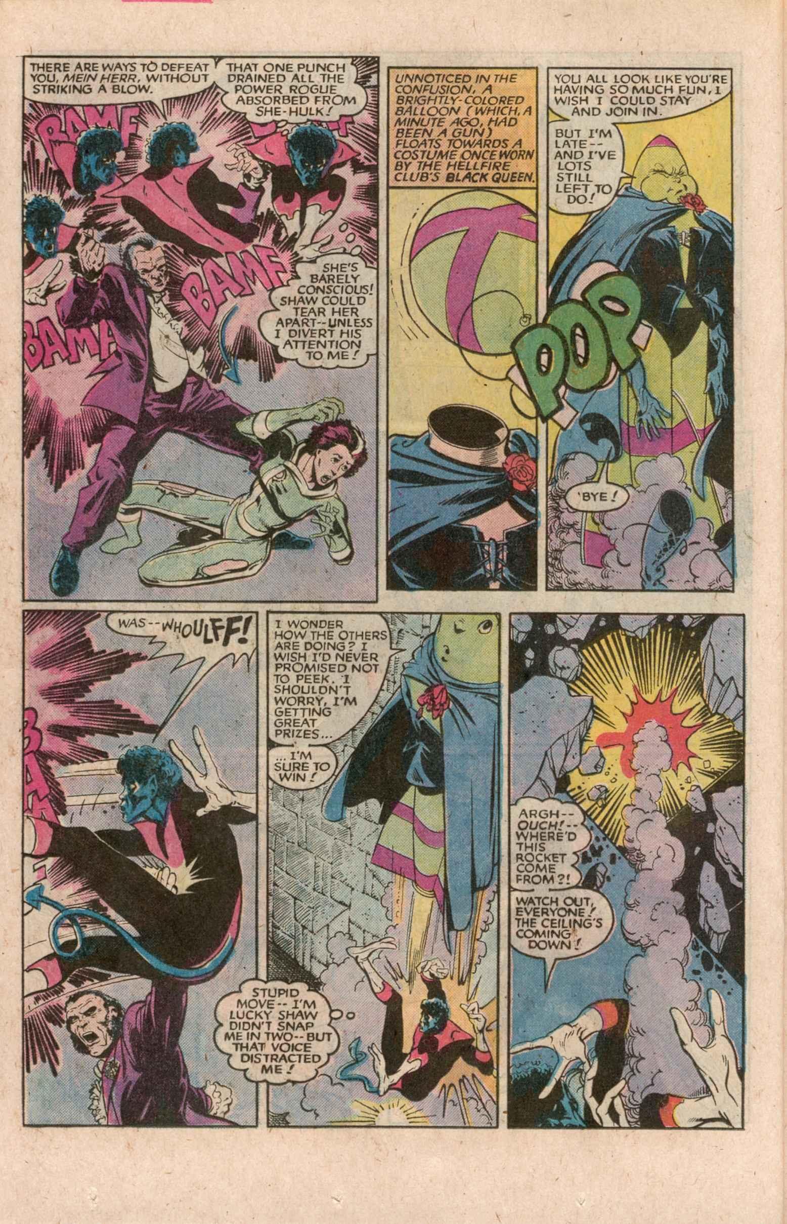 Read online Uncanny X-Men (1963) comic -  Issue # _Annual 7 - 23
