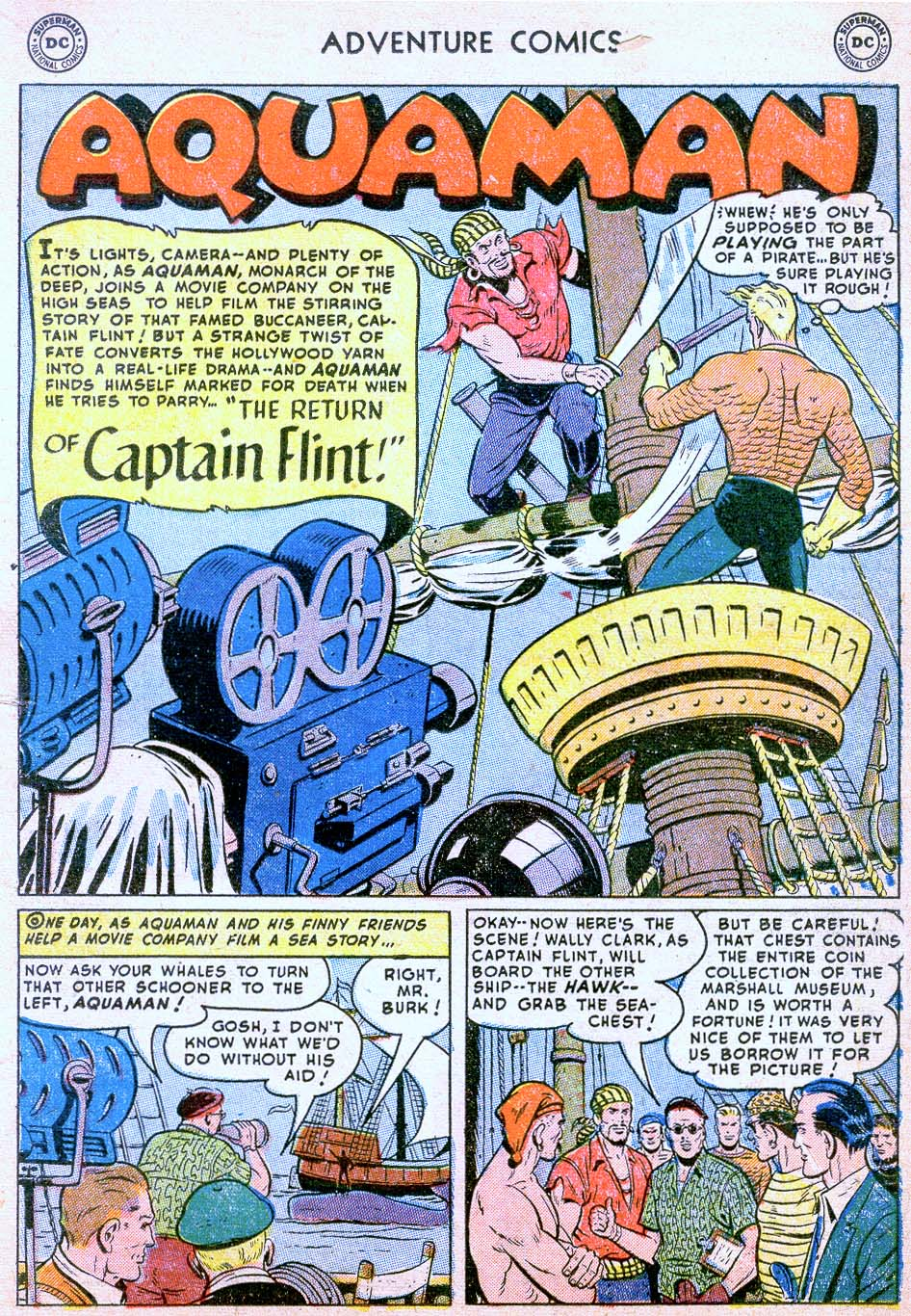 Read online Adventure Comics (1938) comic -  Issue #178 - 17