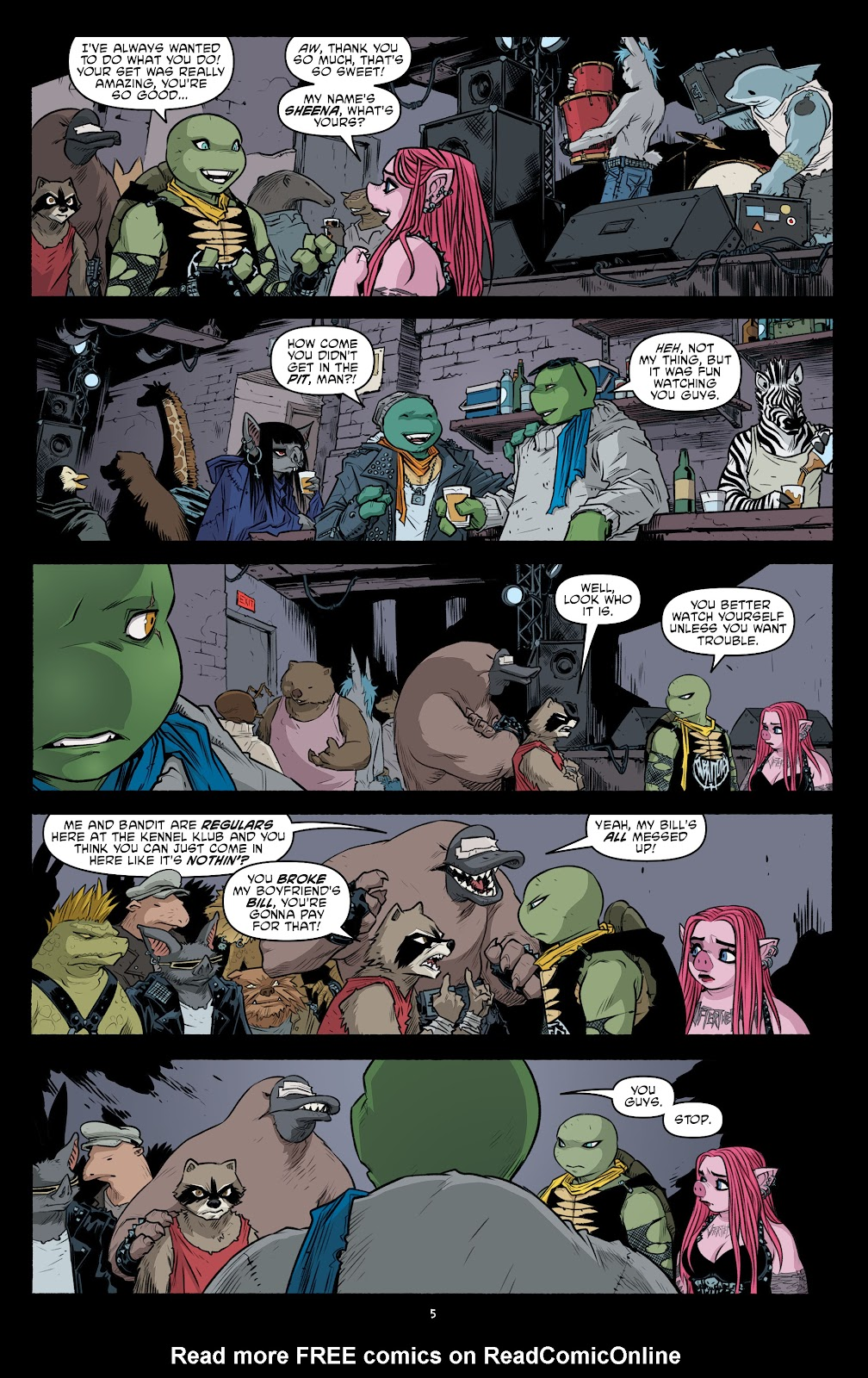 Read online Teenage Mutant Ninja Turtles (2011) comic -  Issue #105 - 7
