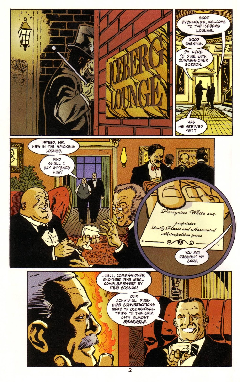 Batman: Two Faces issue Full - Page 3