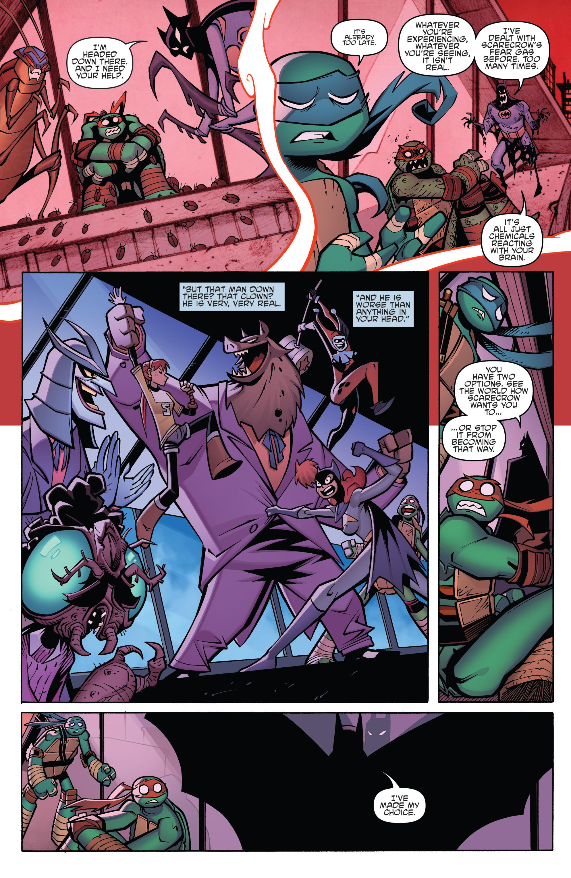 Read online Batman/Teenage Mutant Ninja Turtles Adventure comic -  Issue #4 - 17