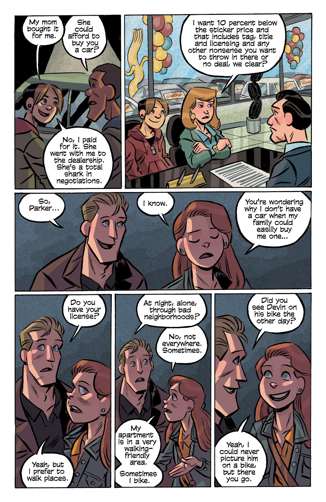 Read online Cellies comic -  Issue #7 - 6
