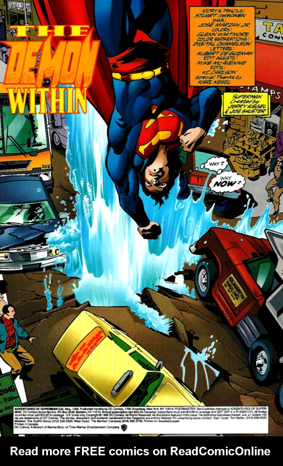 Read online Adventures of Superman (1987) comic -  Issue #534 - 2