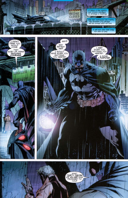 Read online Batman: Hush comic -  Issue #11 - 21