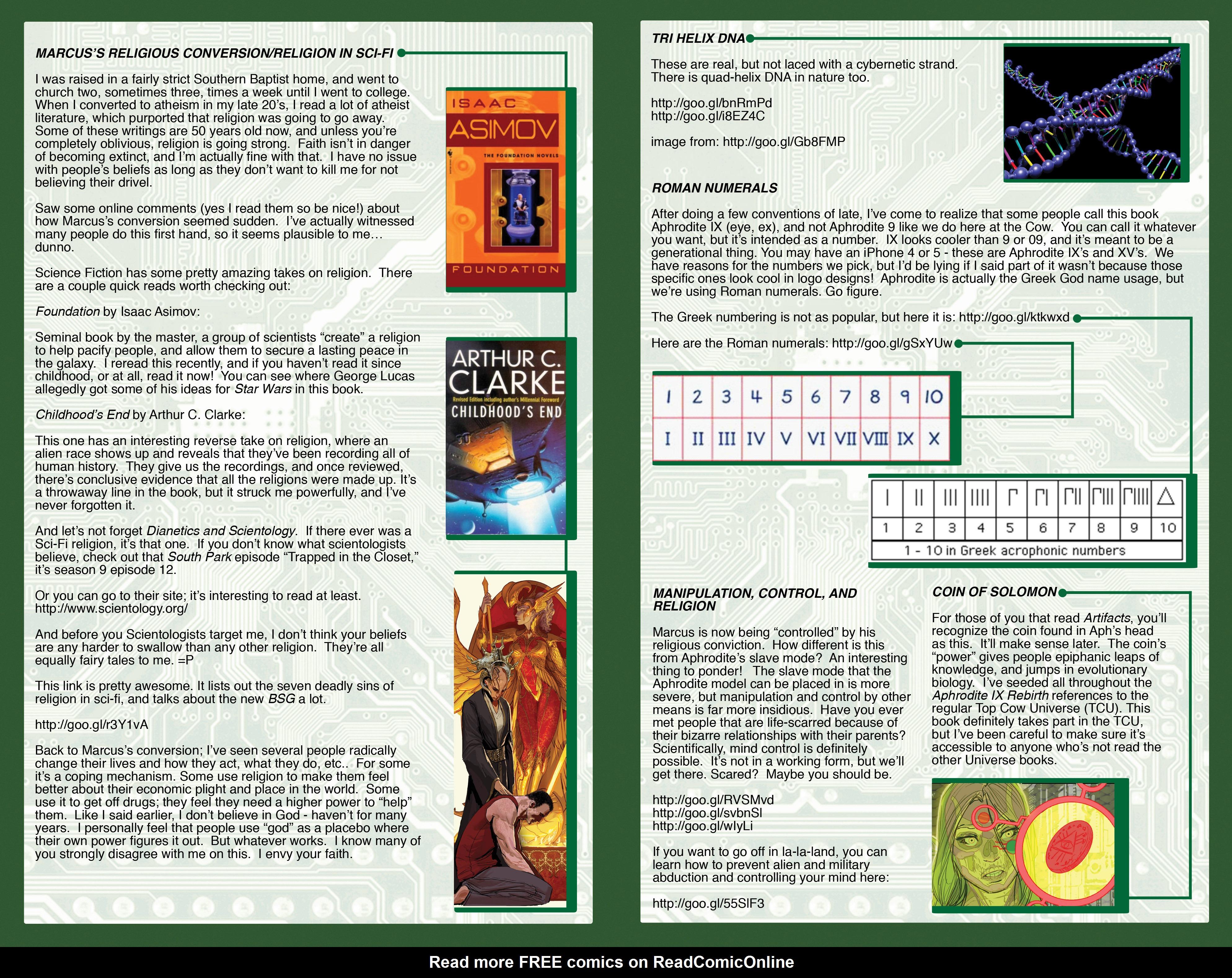Read online Aphrodite IX (2013) comic -  Issue #Aphrodite IX (2013) _TPB 2 - 133