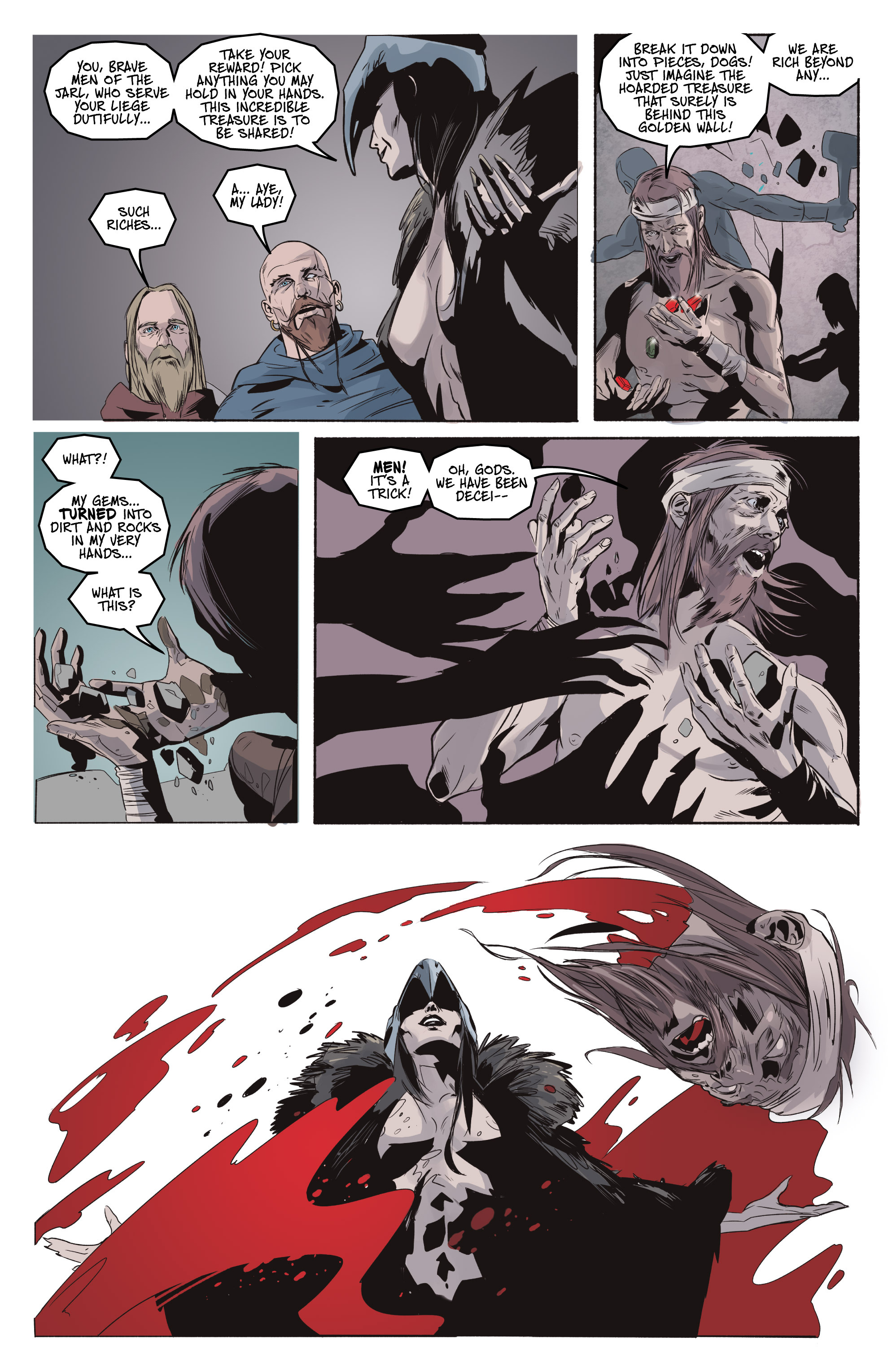 Read online Ghost Wolf comic -  Issue #3 - 19