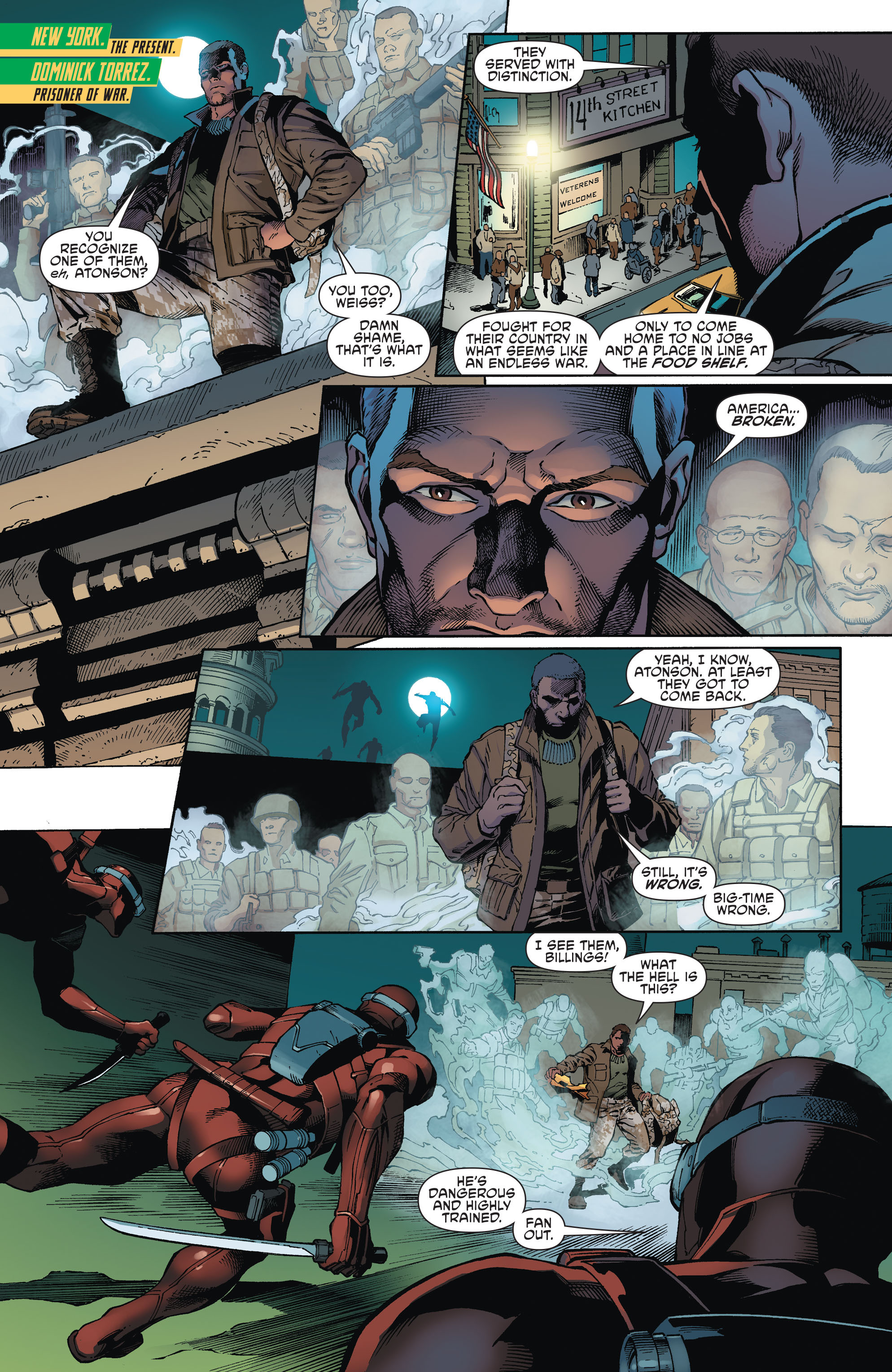 Read online Aquaman and the Others comic -  Issue #1 - 3